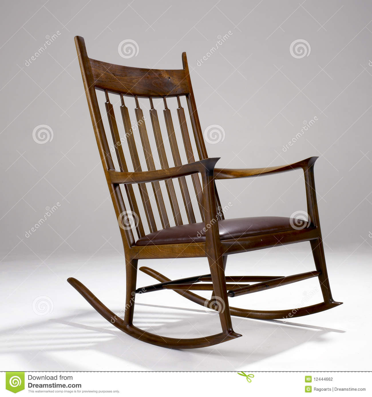 Iconic Modern Design Rocking Chair Editorial Photography