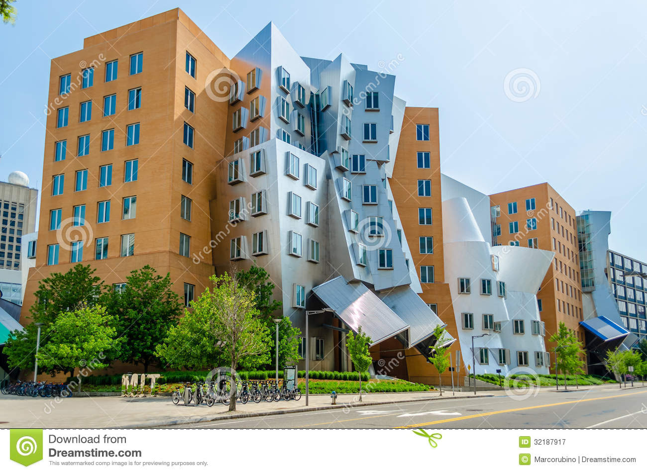 Royalty Free Stock Photography Iconic Postmodern Architecture Mit Strata Center Cambridge Usa Image32187917 on cambridge house plan