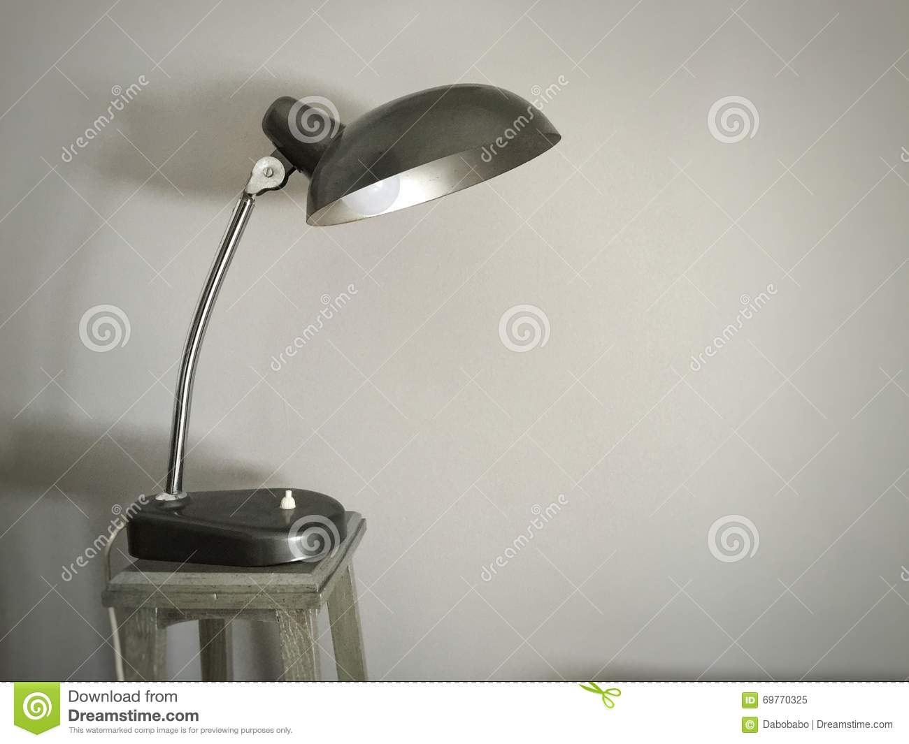 Iconic 50 39 s design lamp stock photo image 69770325 for Iconic design lamps