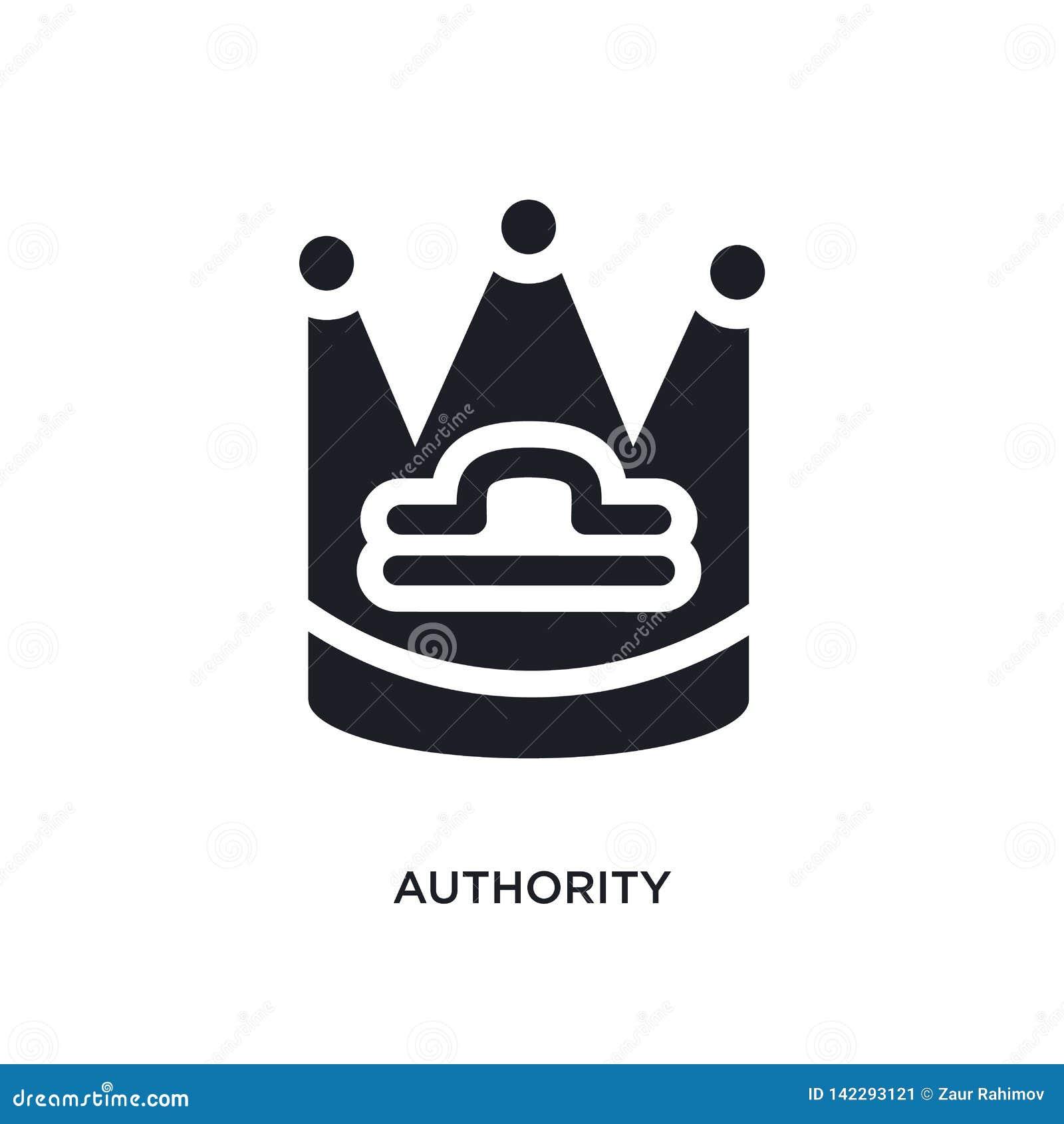 Icono aislado autoridad ejemplo simple del elemento de iconos del concepto del zodiaco diseño editable del símbolo de la muestra