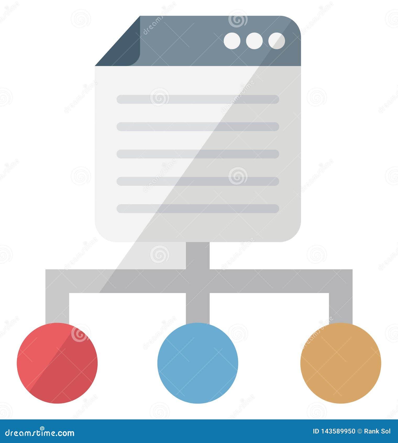 Icono aislado isométrico del vector de las páginas del vínculo que puede ser modificado o corregir fácilmente