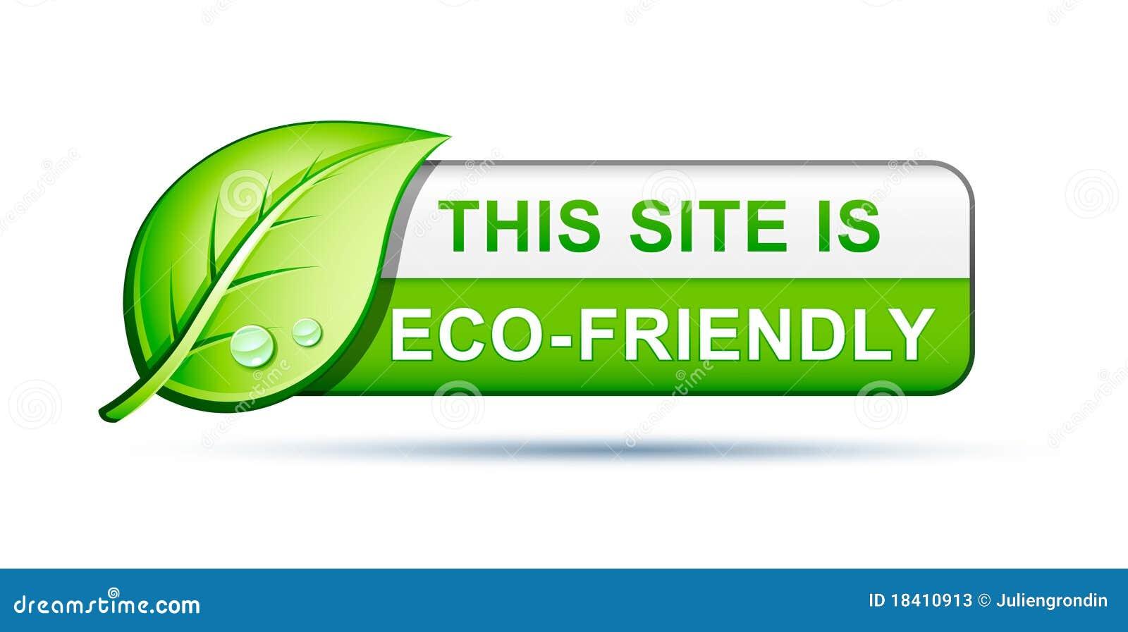 Icono cómodo del Web site de Eco