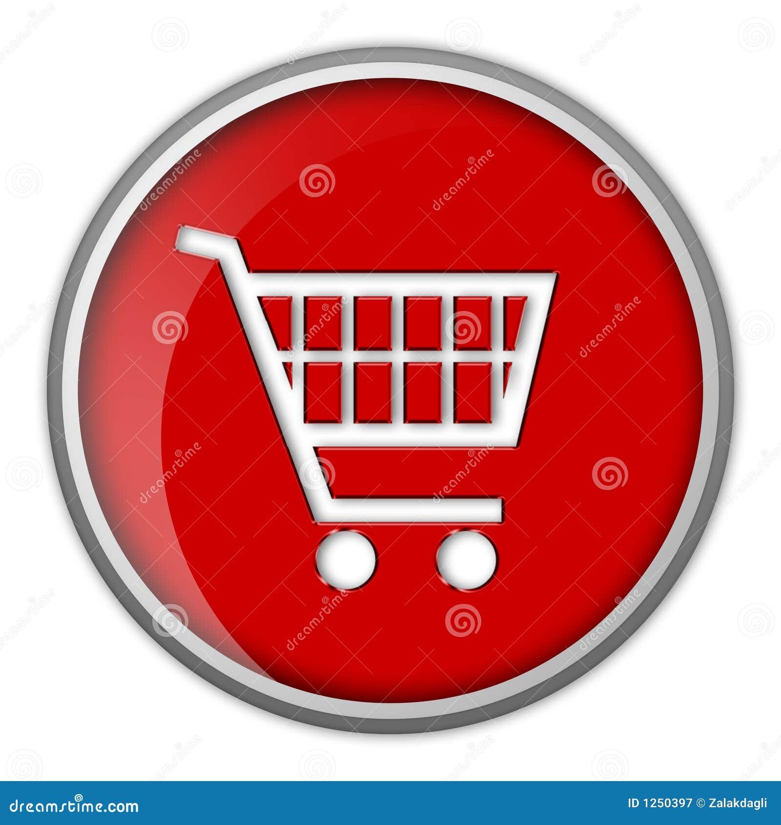 Icono carro de compras bot n for Icono boton