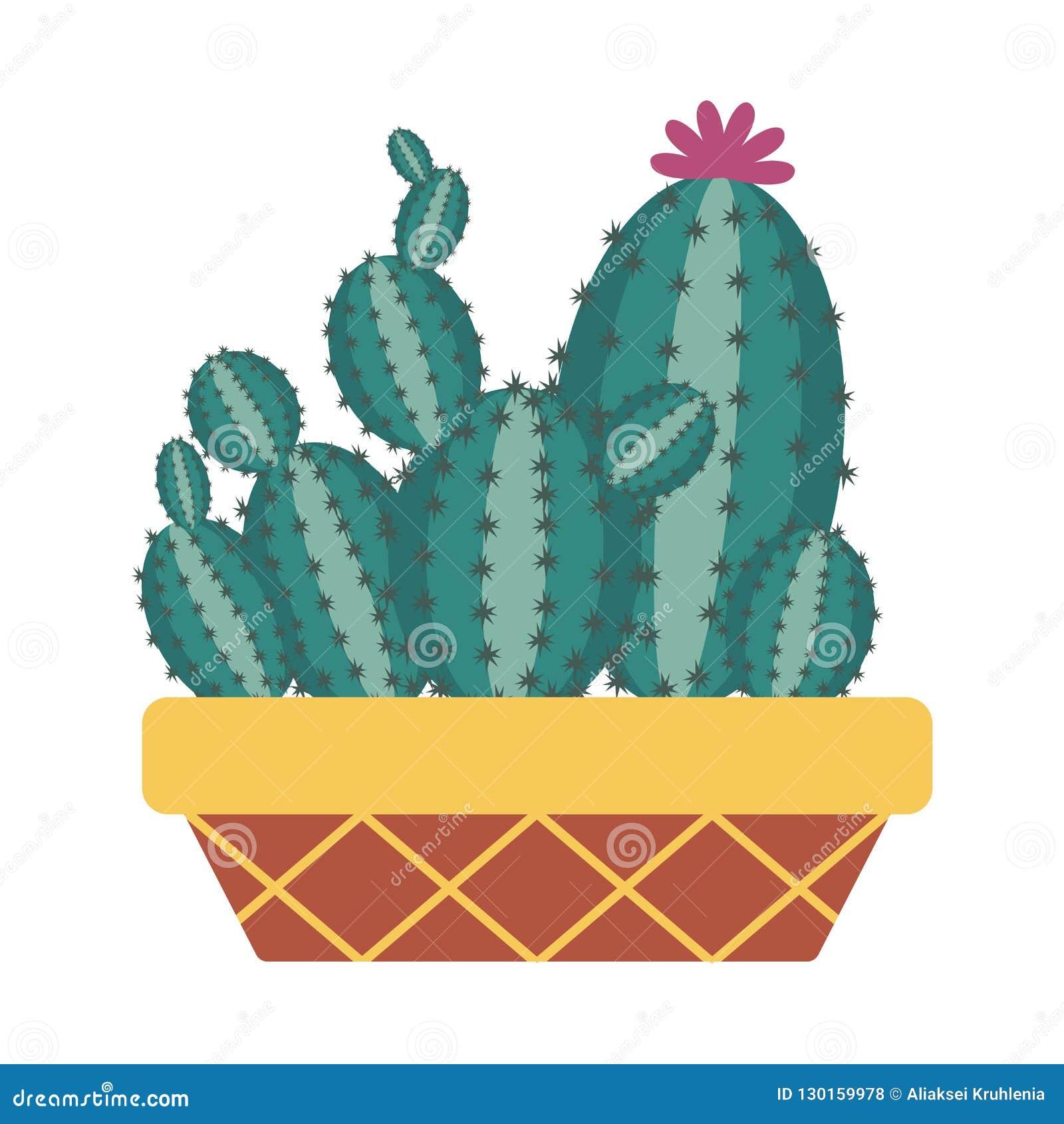 Icono casero del cactus