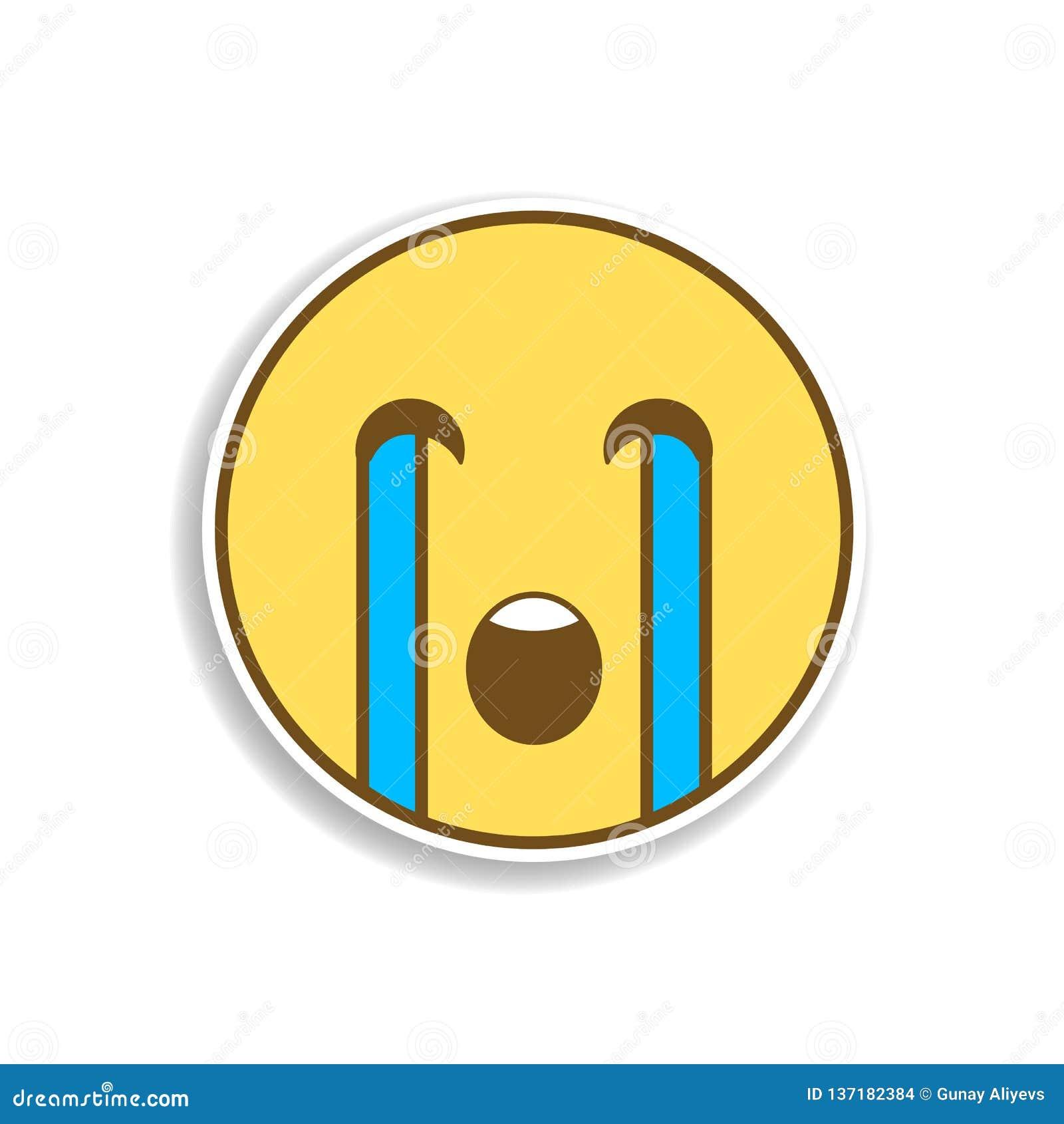 Emojis Llorando Para Colorear Emojis Para Colorear Emoticonos