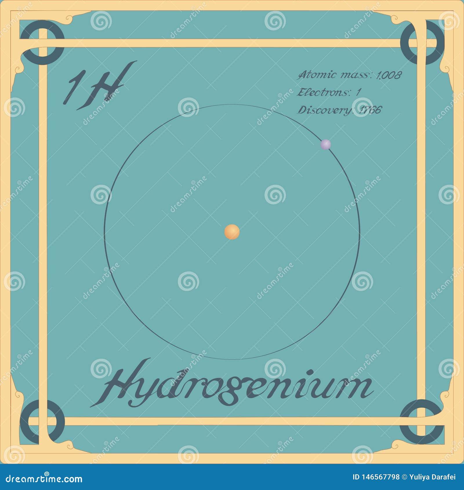 Icono colorido de Hydrogenium