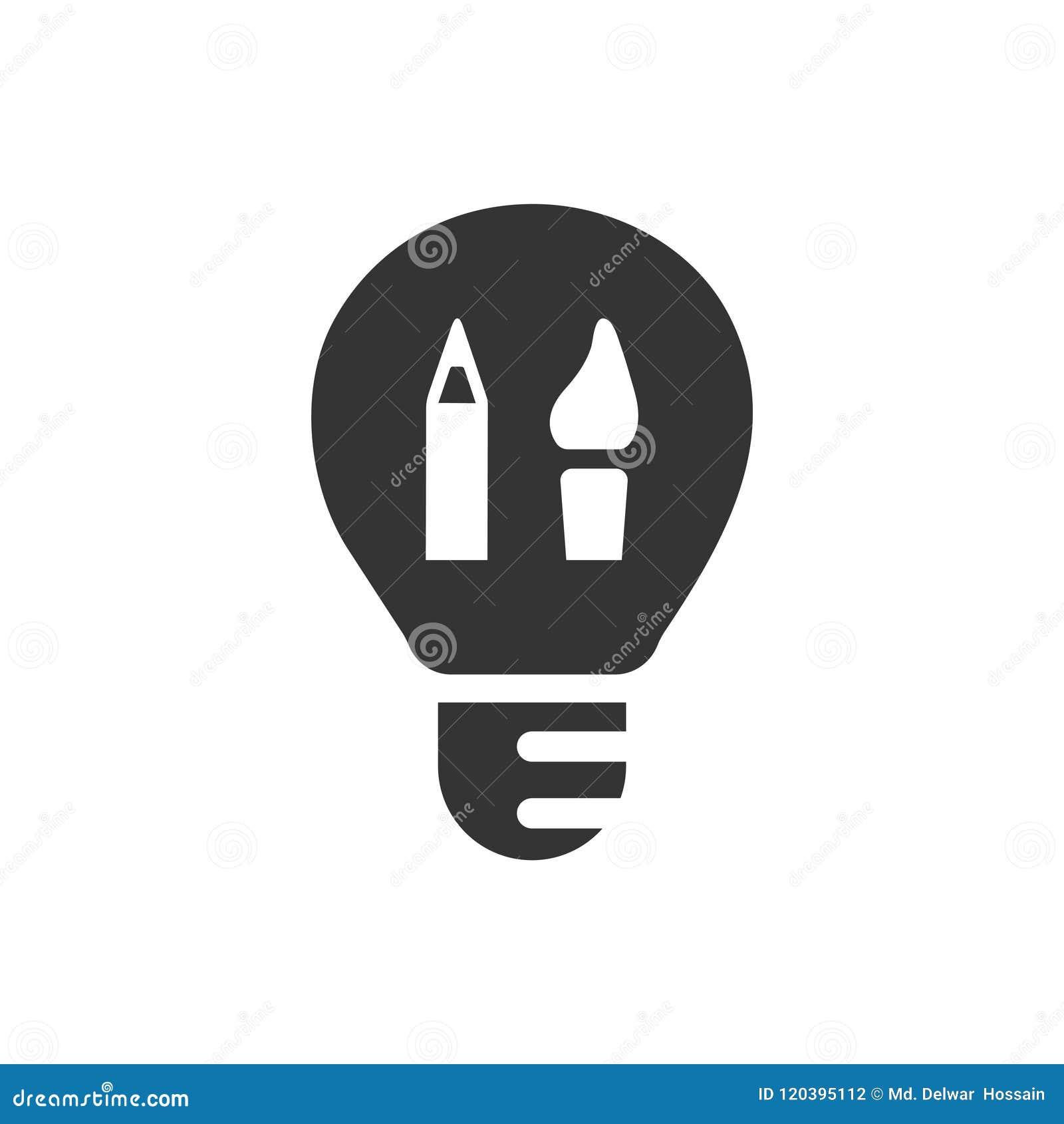 Icono creativo del diseño gráfico