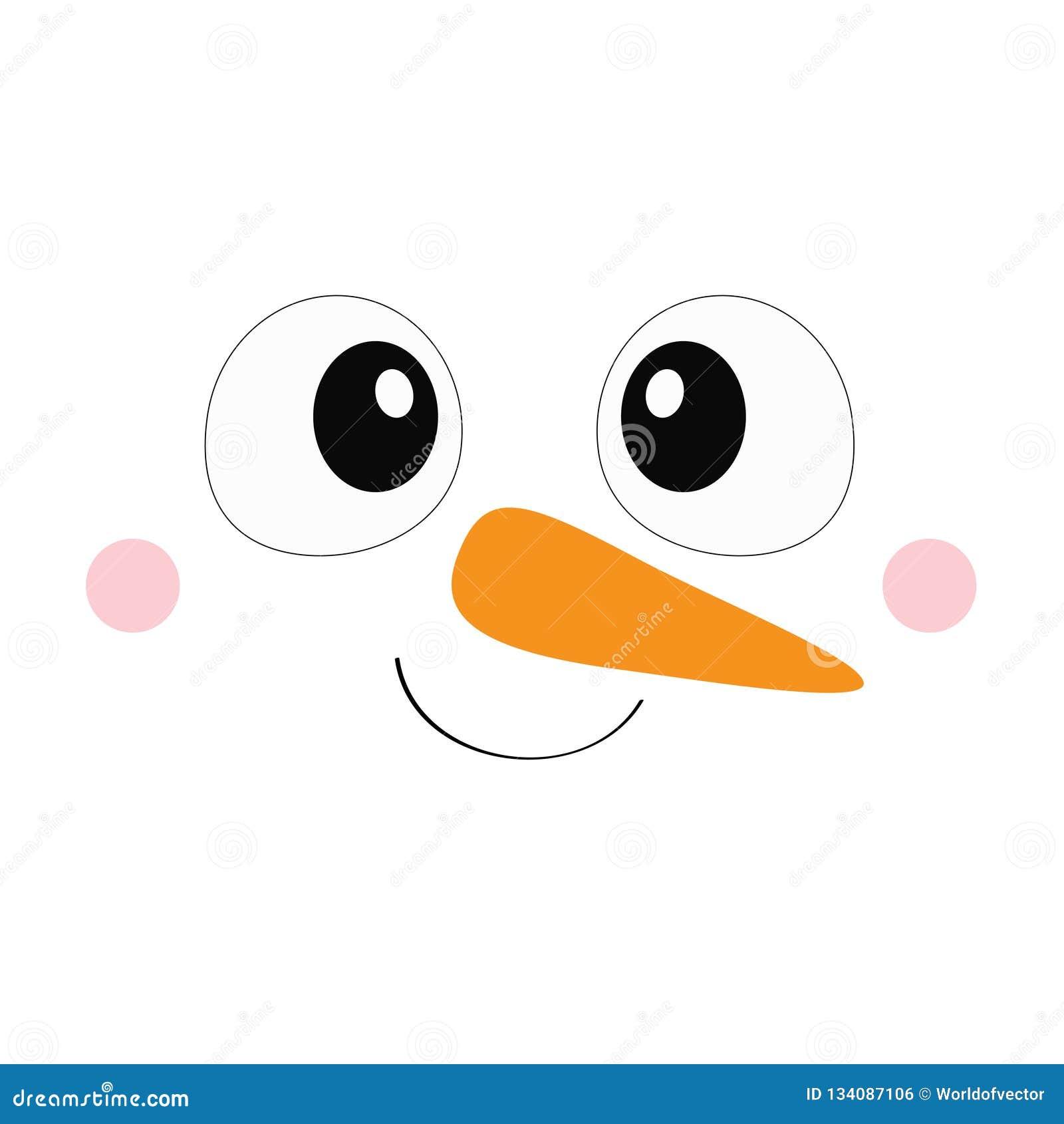 Cara Feliz Del Muñeco De Nieve Ilustraciones Stock Vectores Y Clipart 1 818 Ilustraciones Stock