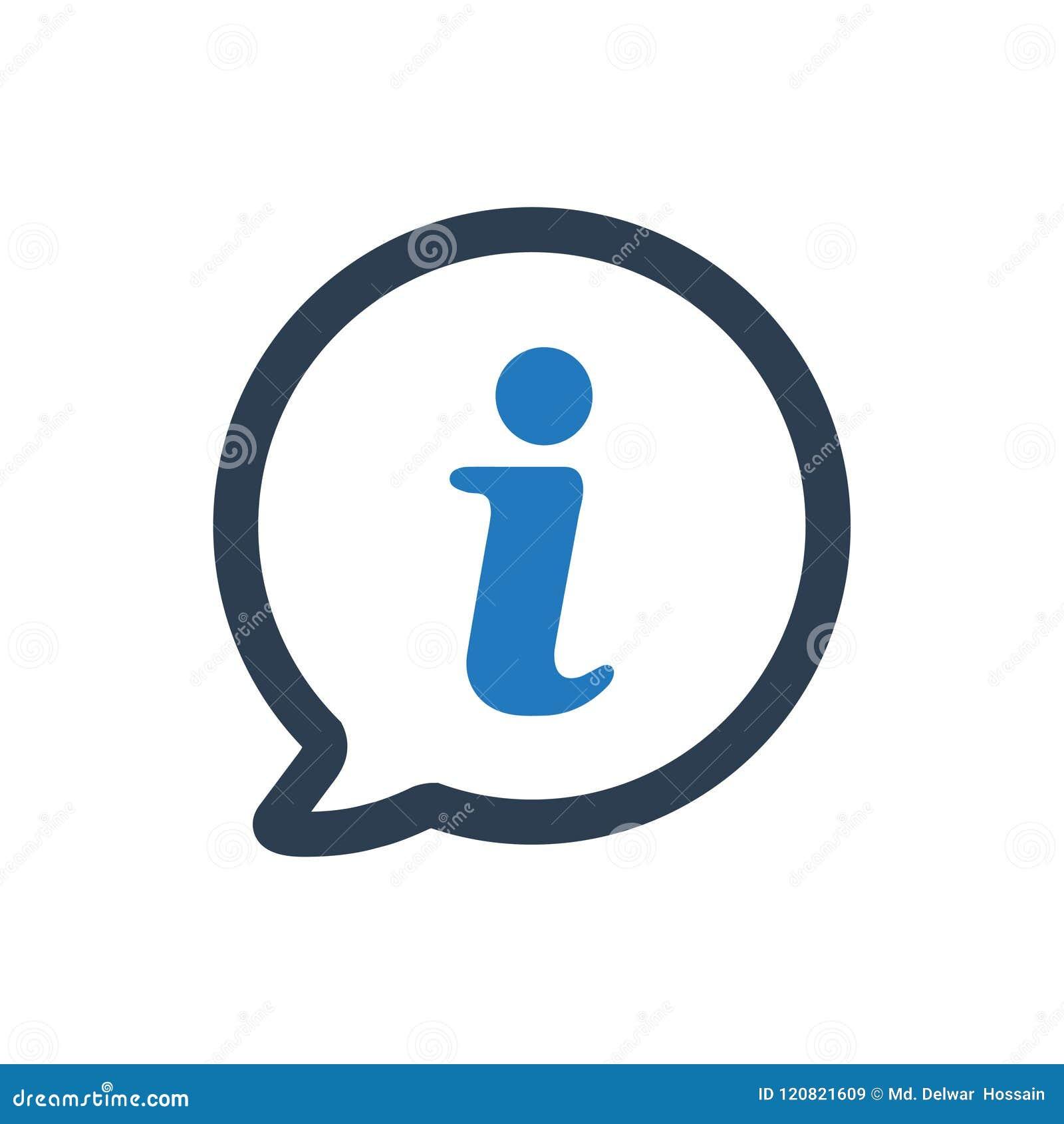 Icono de la ayuda de la información
