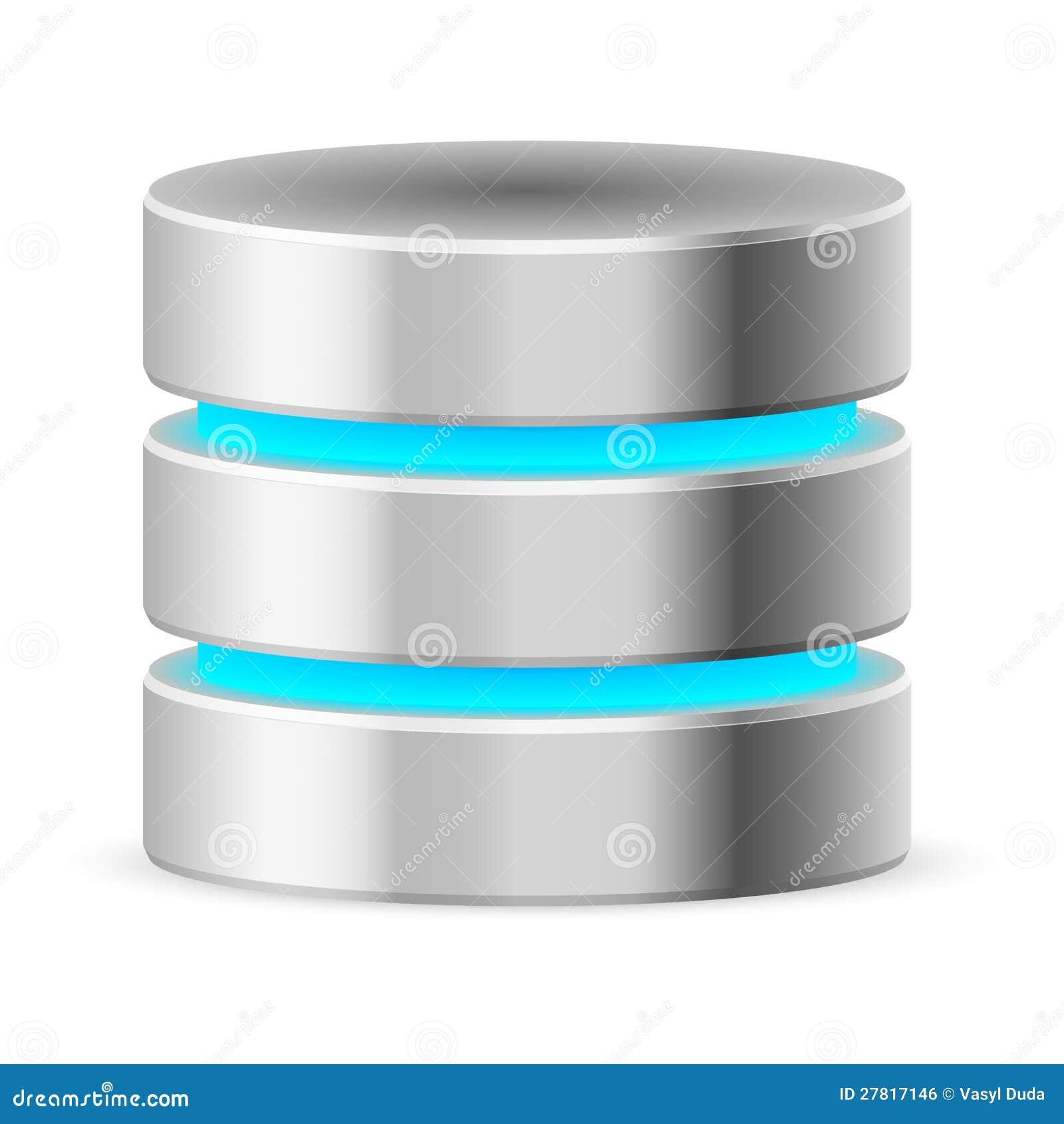 Icono De La Base De Datos Imagen de archivo libre de regalías - Imagen: 27817146