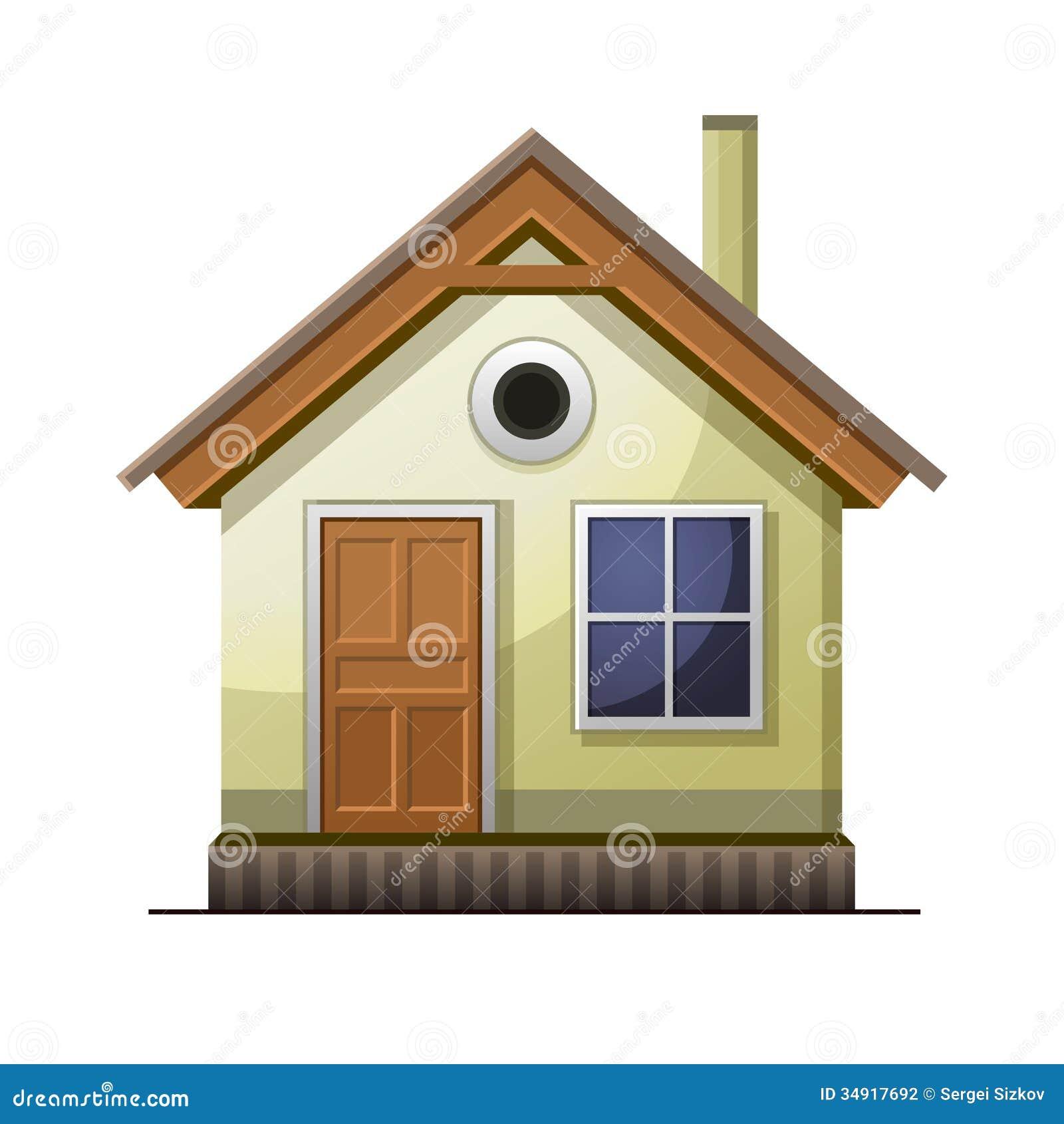 Icono de la casa aislado en el fondo blanco fotograf a de for Imagenes de despachos en casa