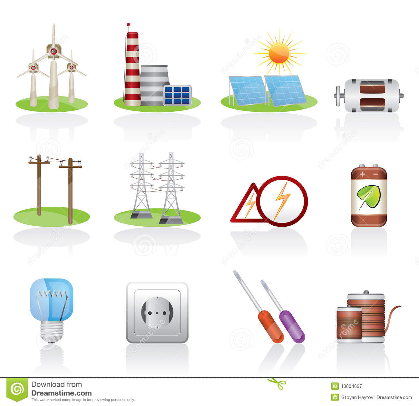 Icono de la electricidad