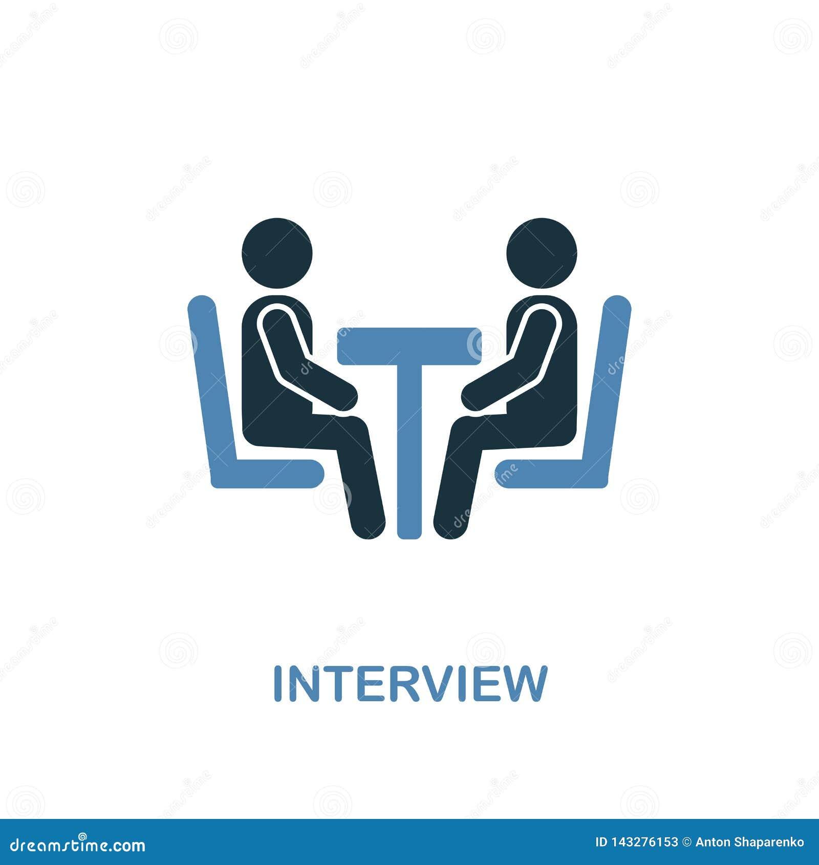 Icono de la entrevista Pixel perfecto Símbolo monocromático del icono de la entrevista de la colección de los recursos humanos El