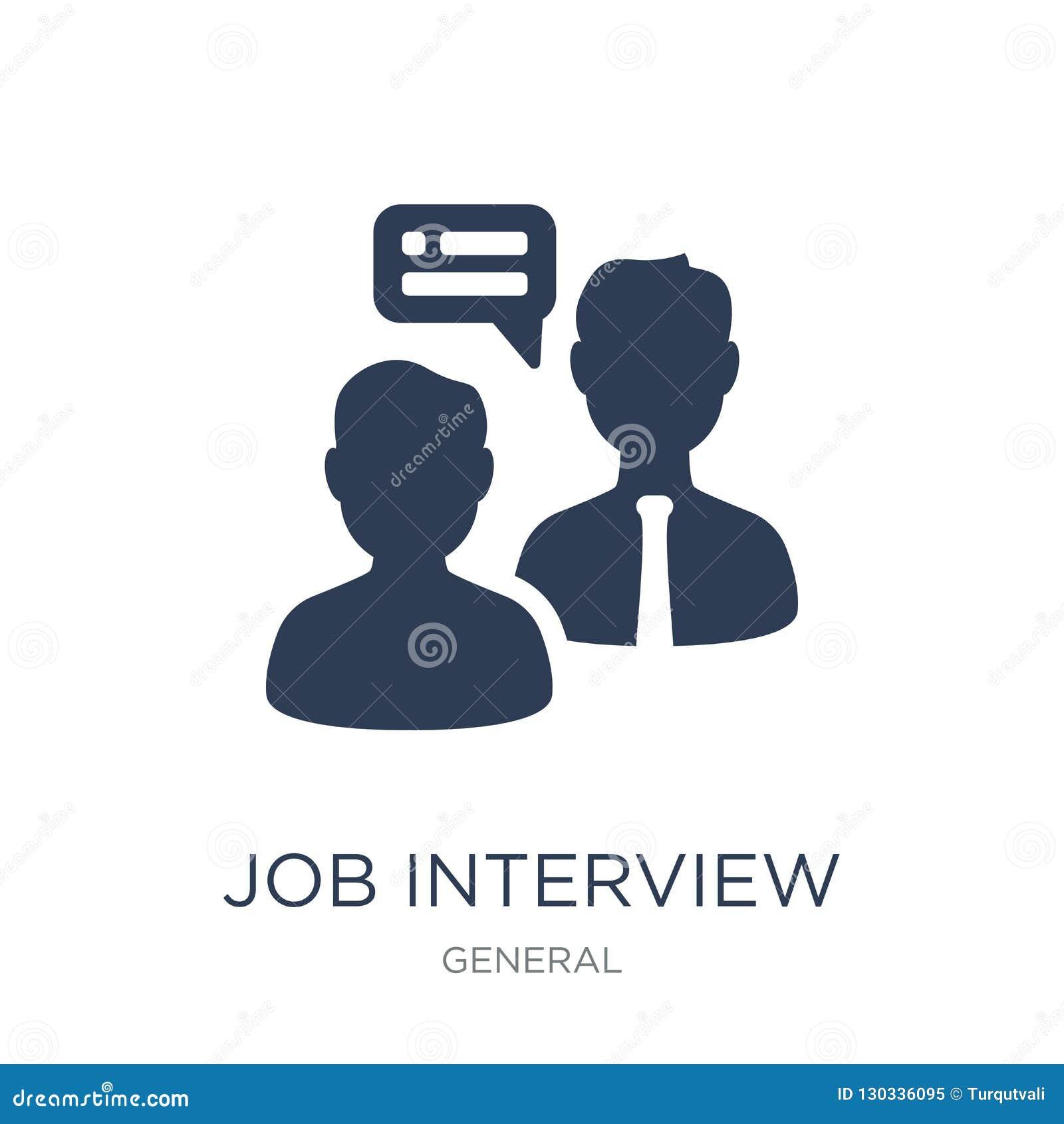 Icono de la entrevista de trabajo