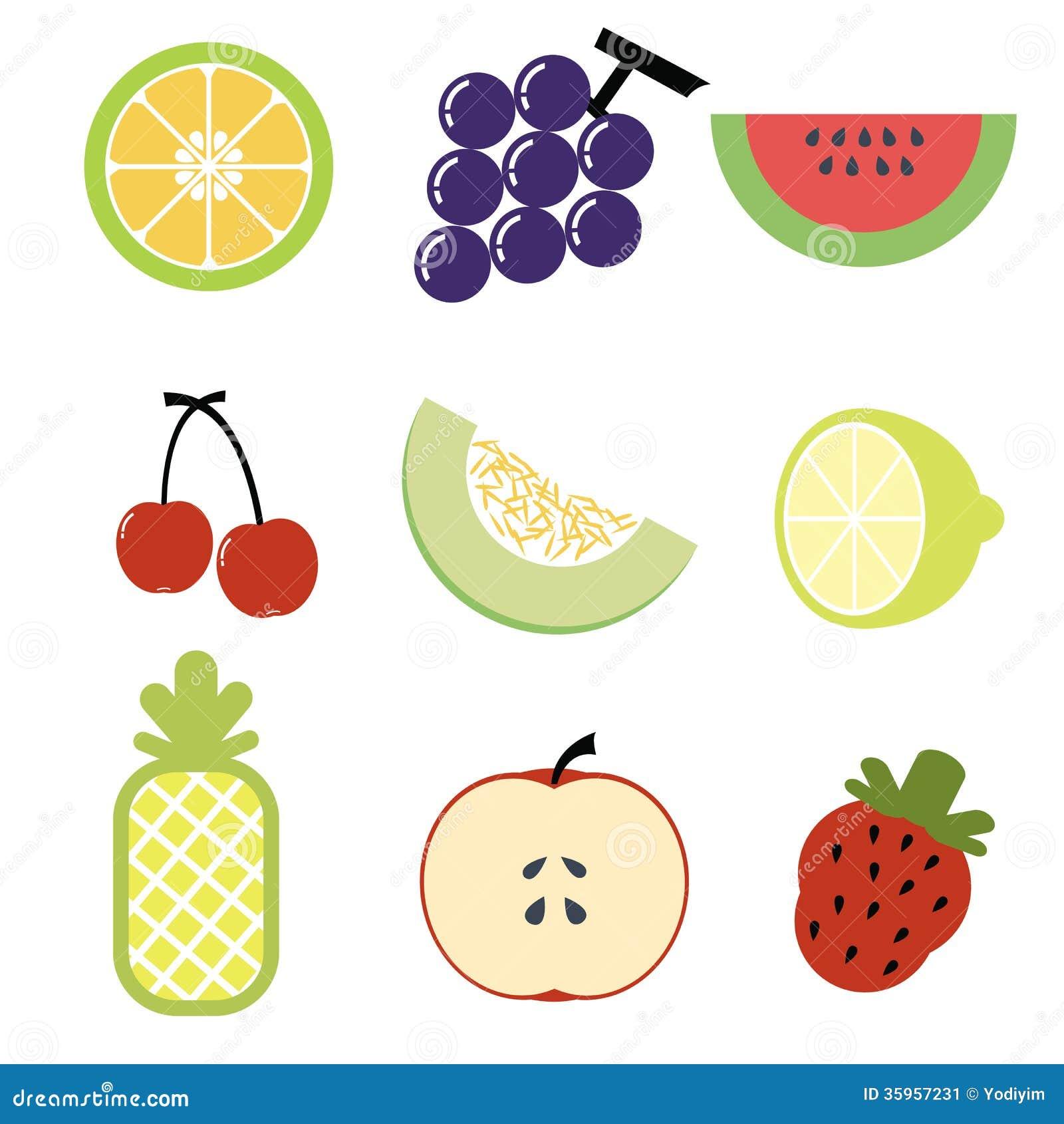 Icono de la fruta