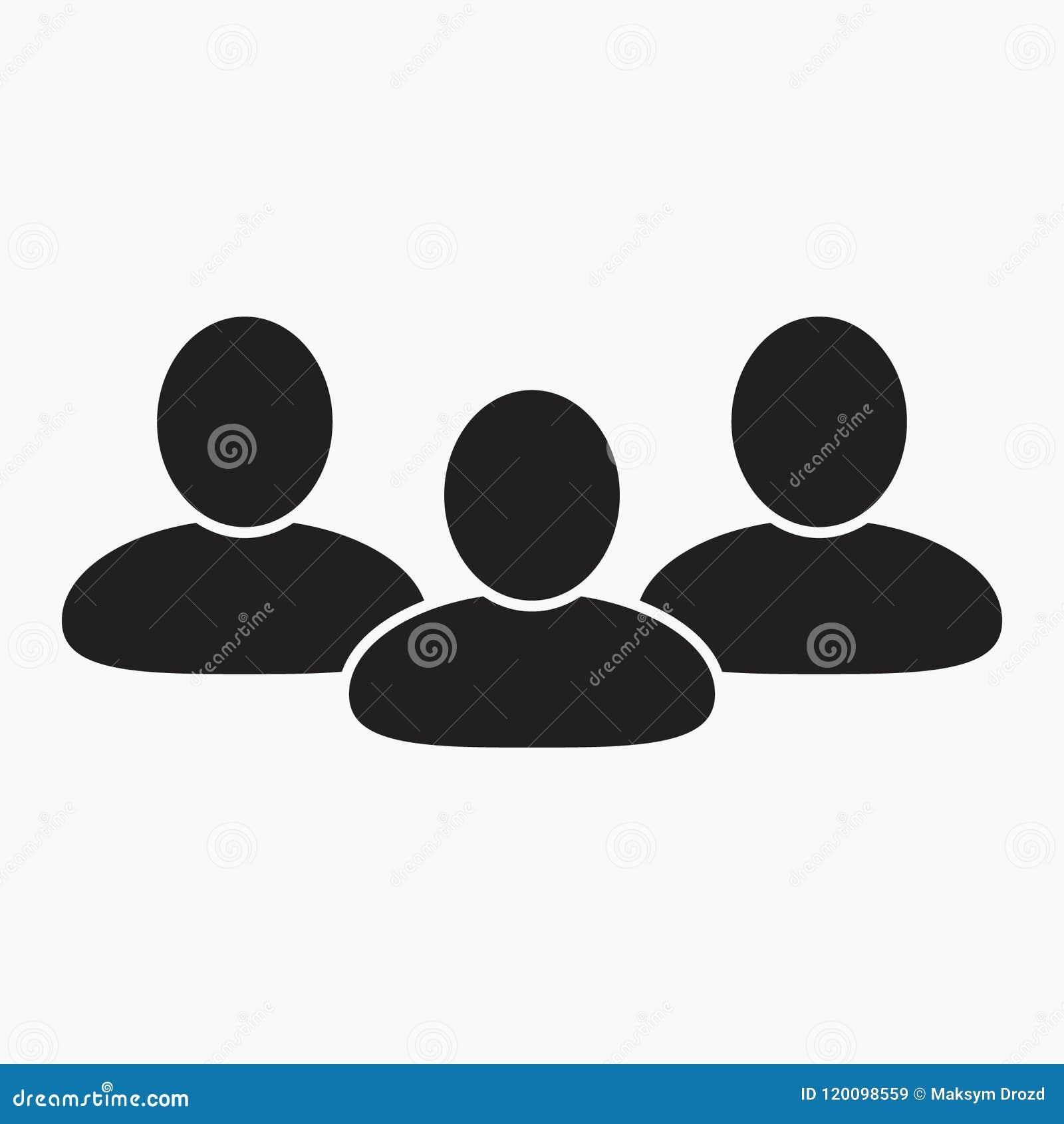 Icono de la gente, icono de grupo