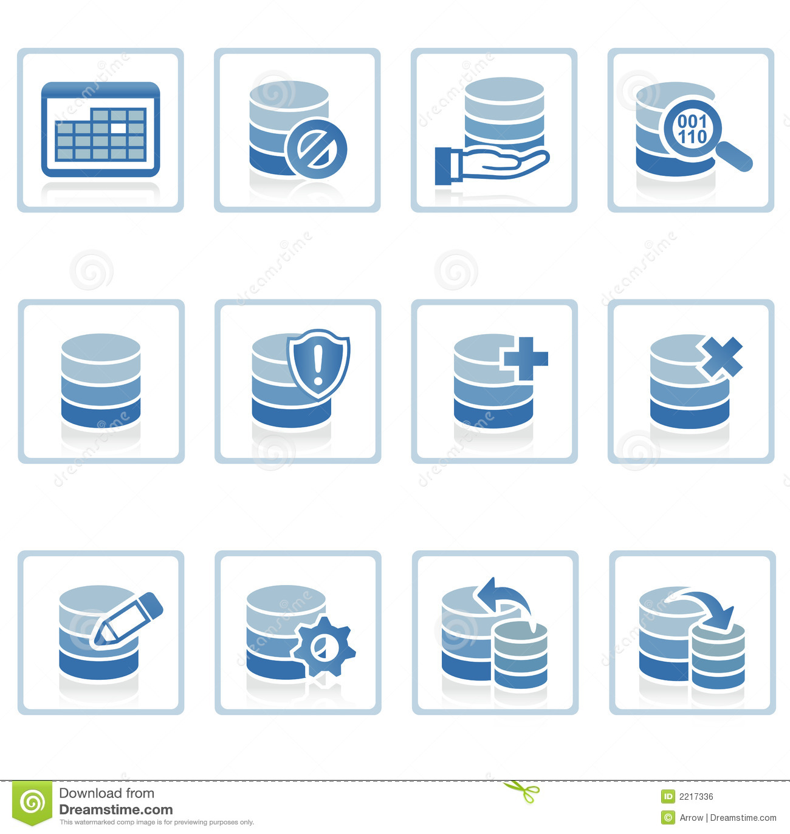 Icono de la gerencia de base de datos