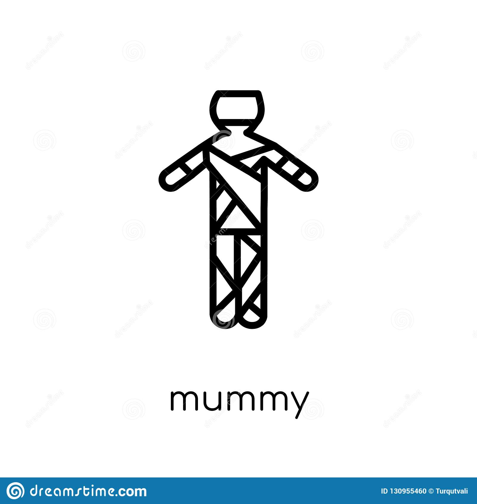 Icono de la momia de la colección