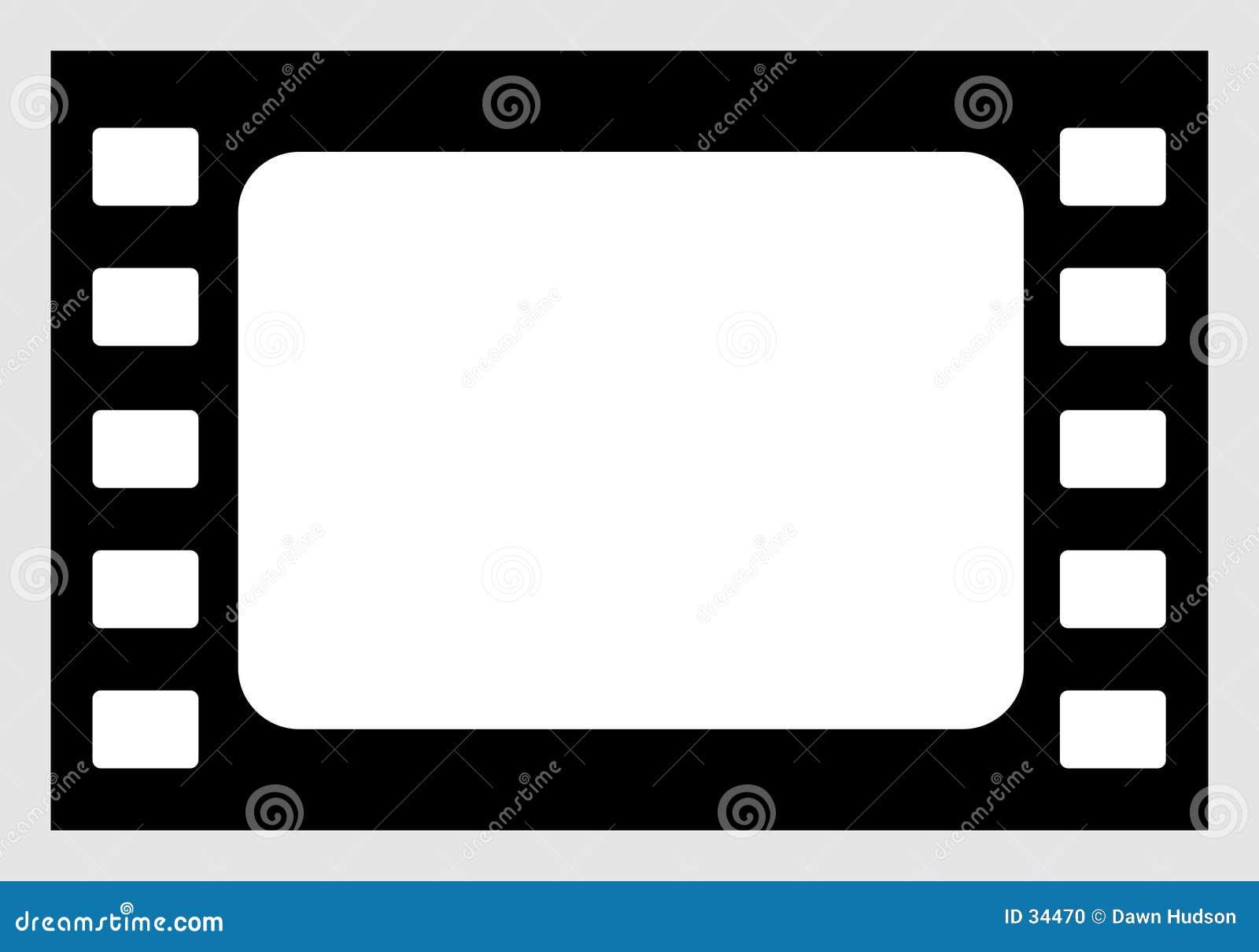 Download Icono de la película ilustración del vector. Ilustración de frontera - 34470
