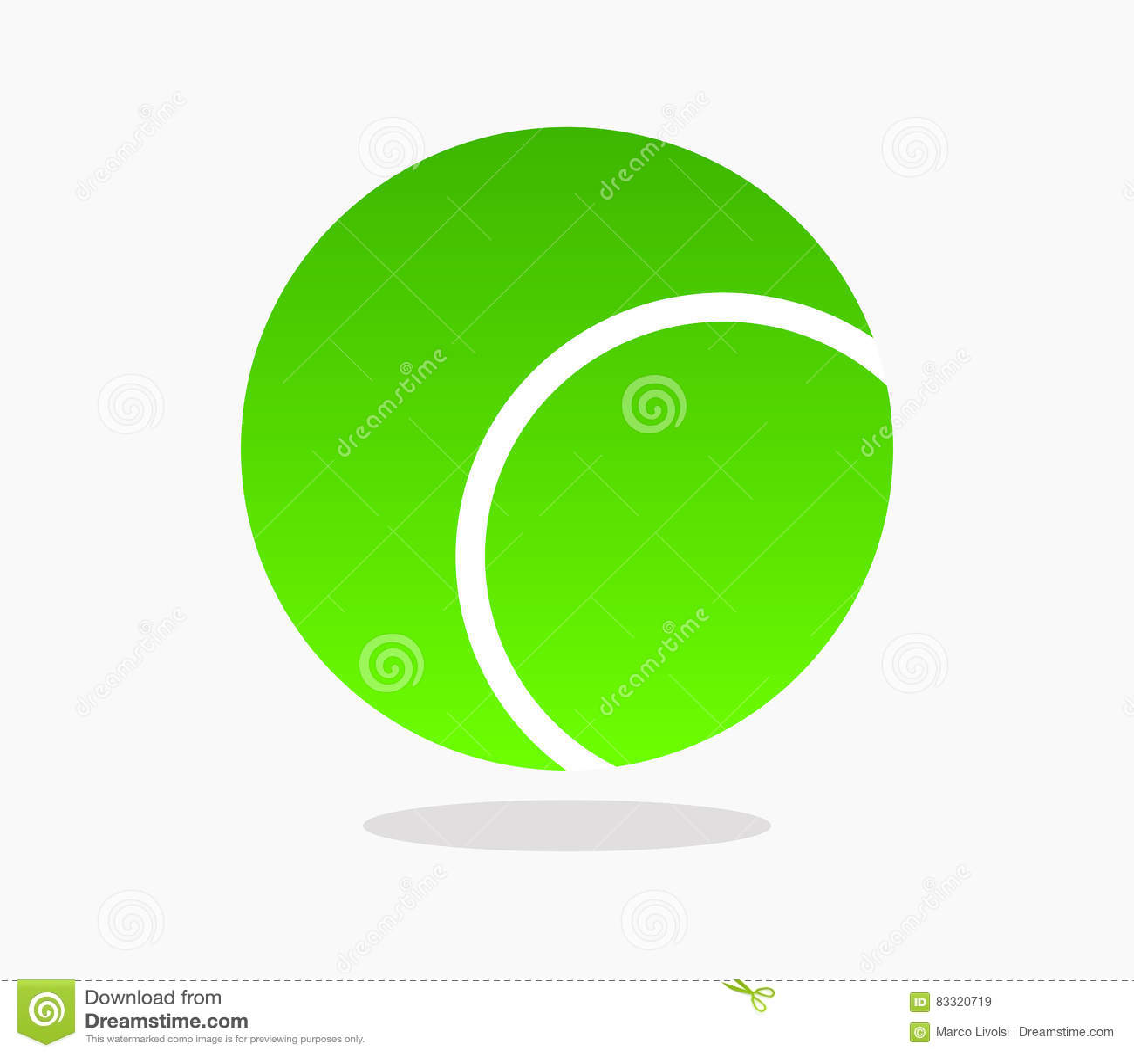 Tenis pelota stock de ilustracion ilustracion libre de stock de - Icono De La Pelota De Tenis Ilustrado