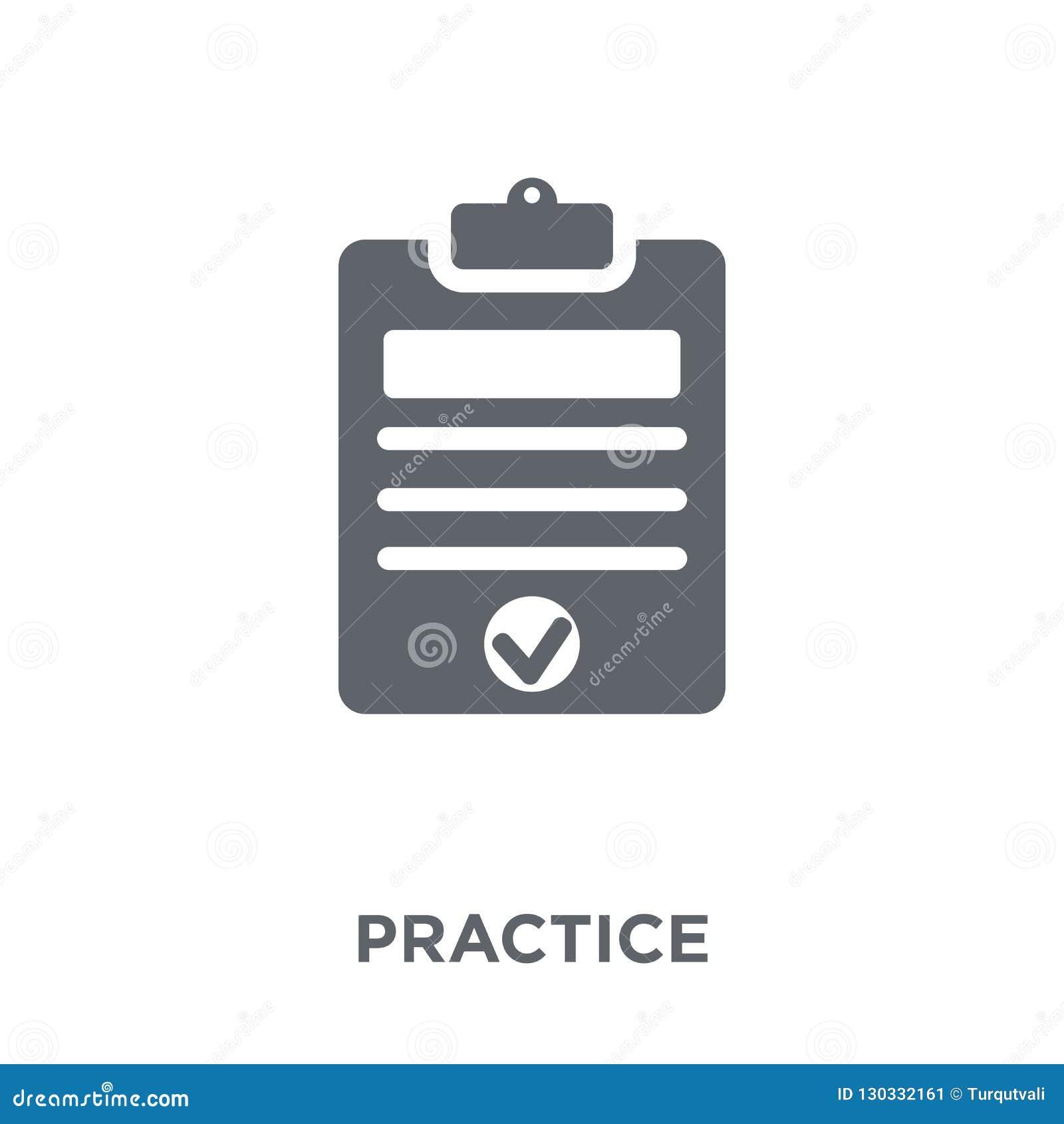 Icono de la práctica de la colección de la productividad