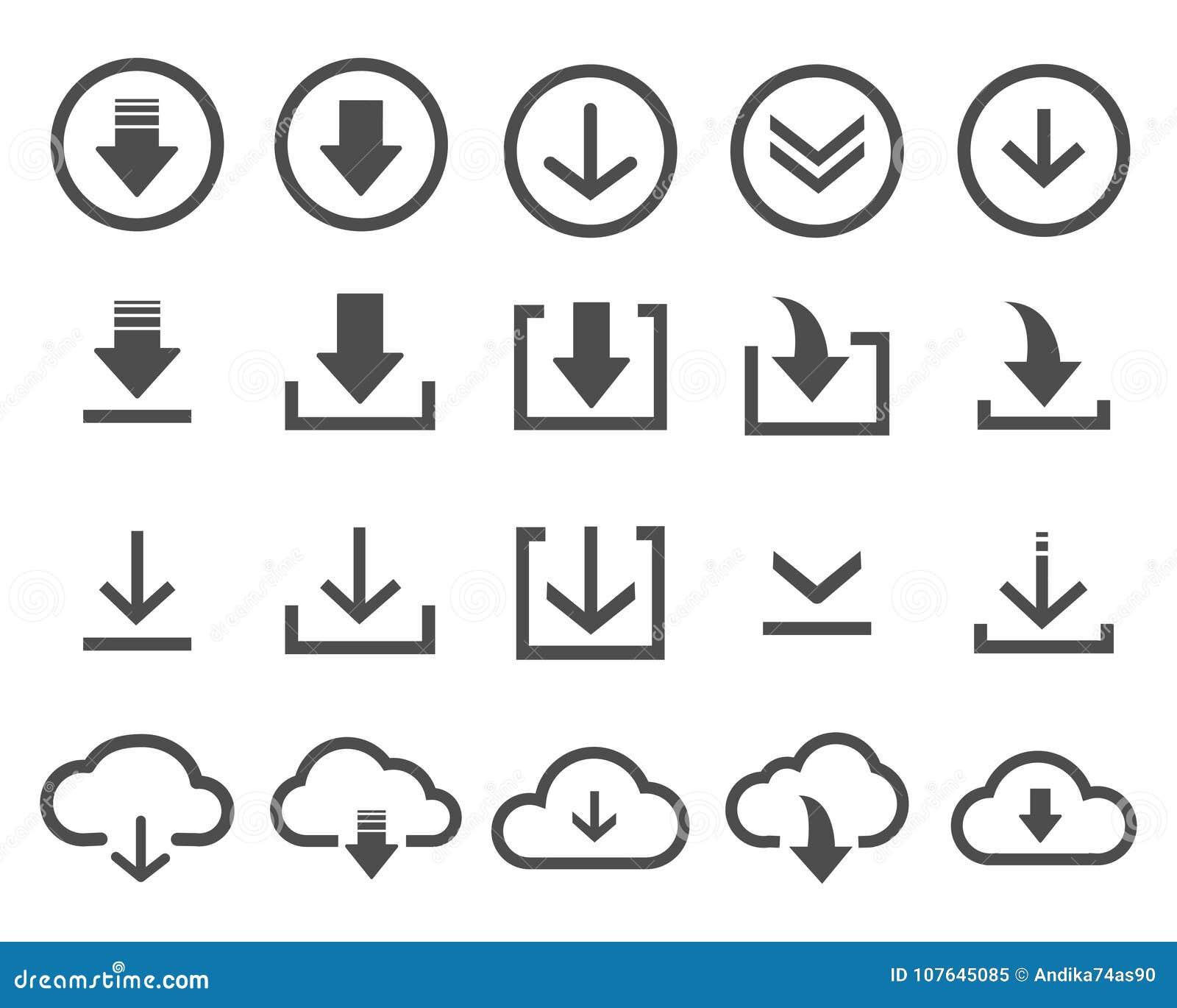 Icono de la transferencia directa del vector en el fondo blanco
