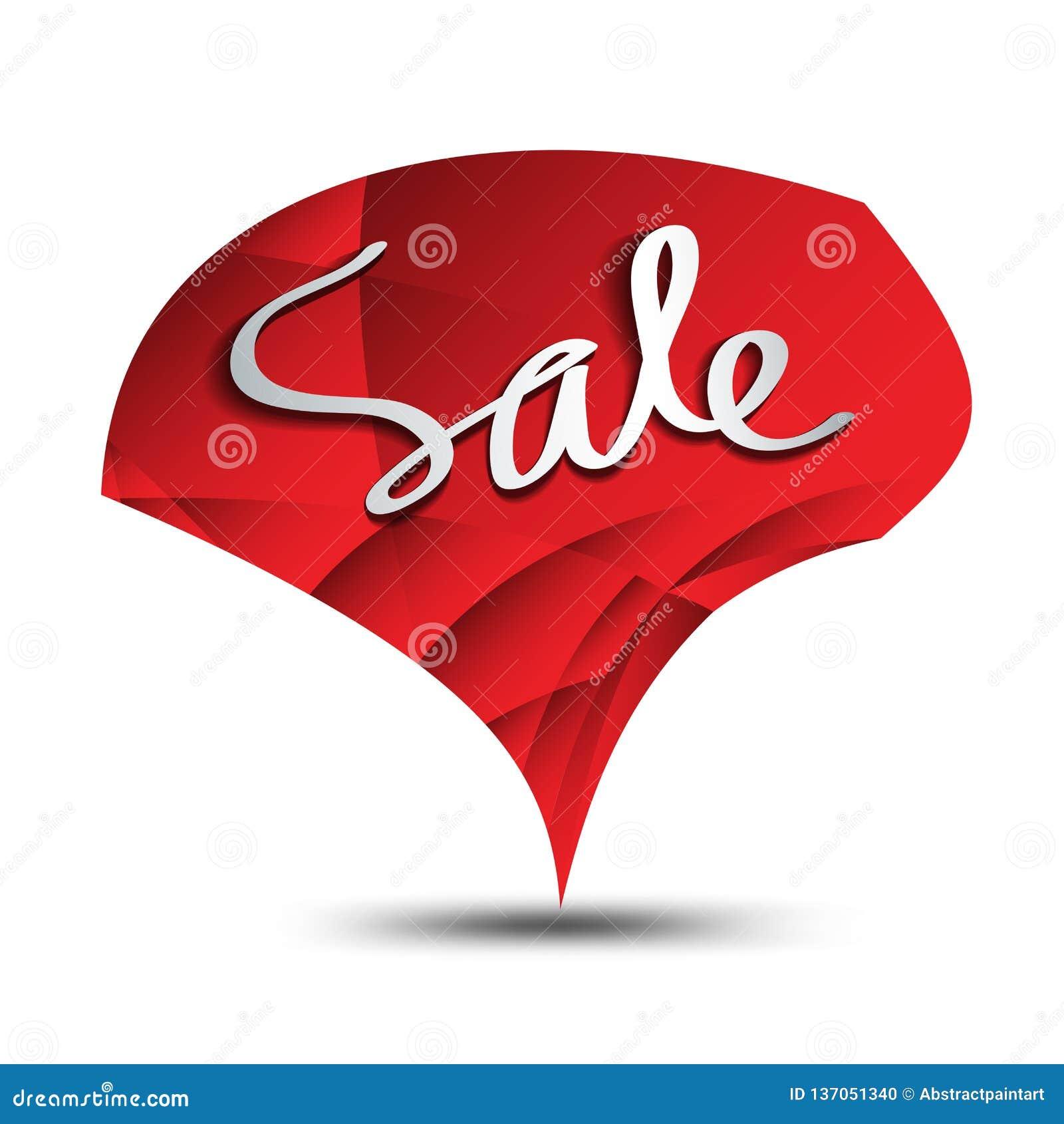 Icono de la venta, vector del polígono del círculo, etiqueta engomada, etiqueta, botones, etiquetas, bandera de la promoción, már