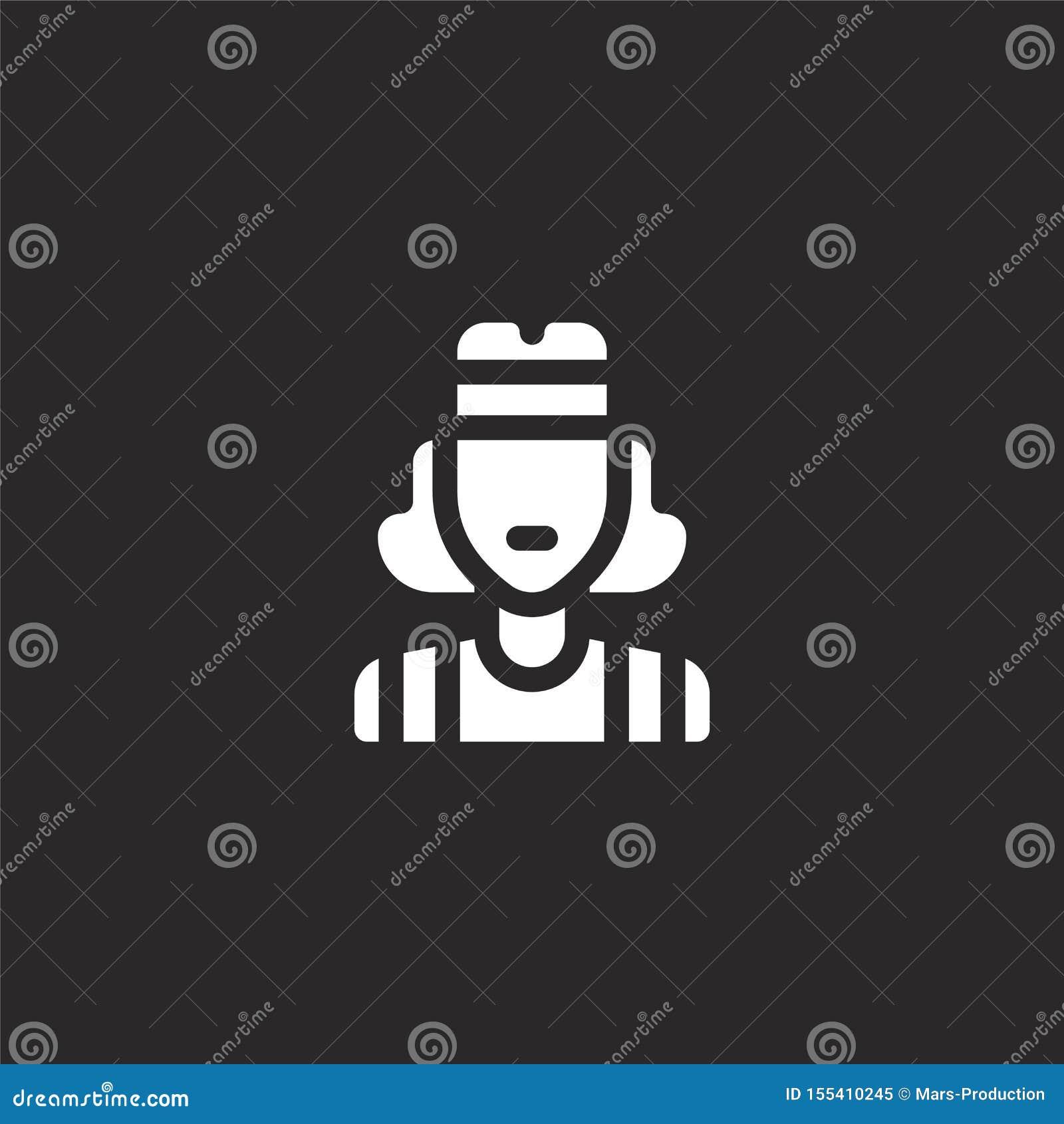 Icono de los años ochenta Icono llenado de los años ochenta para el diseño y el móvil, desarrollo de la página web del app icono