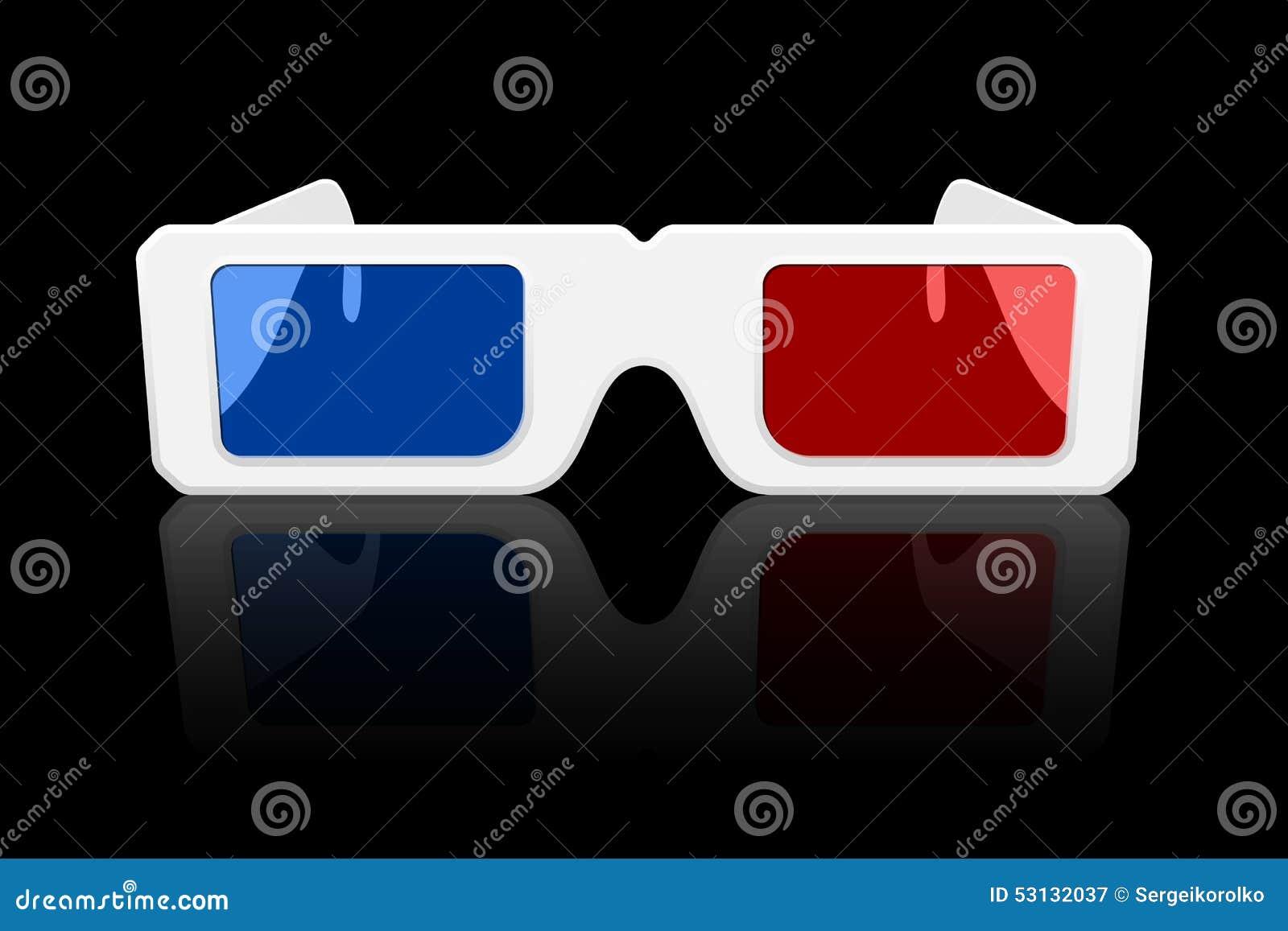 Icono de los vidrios 3D