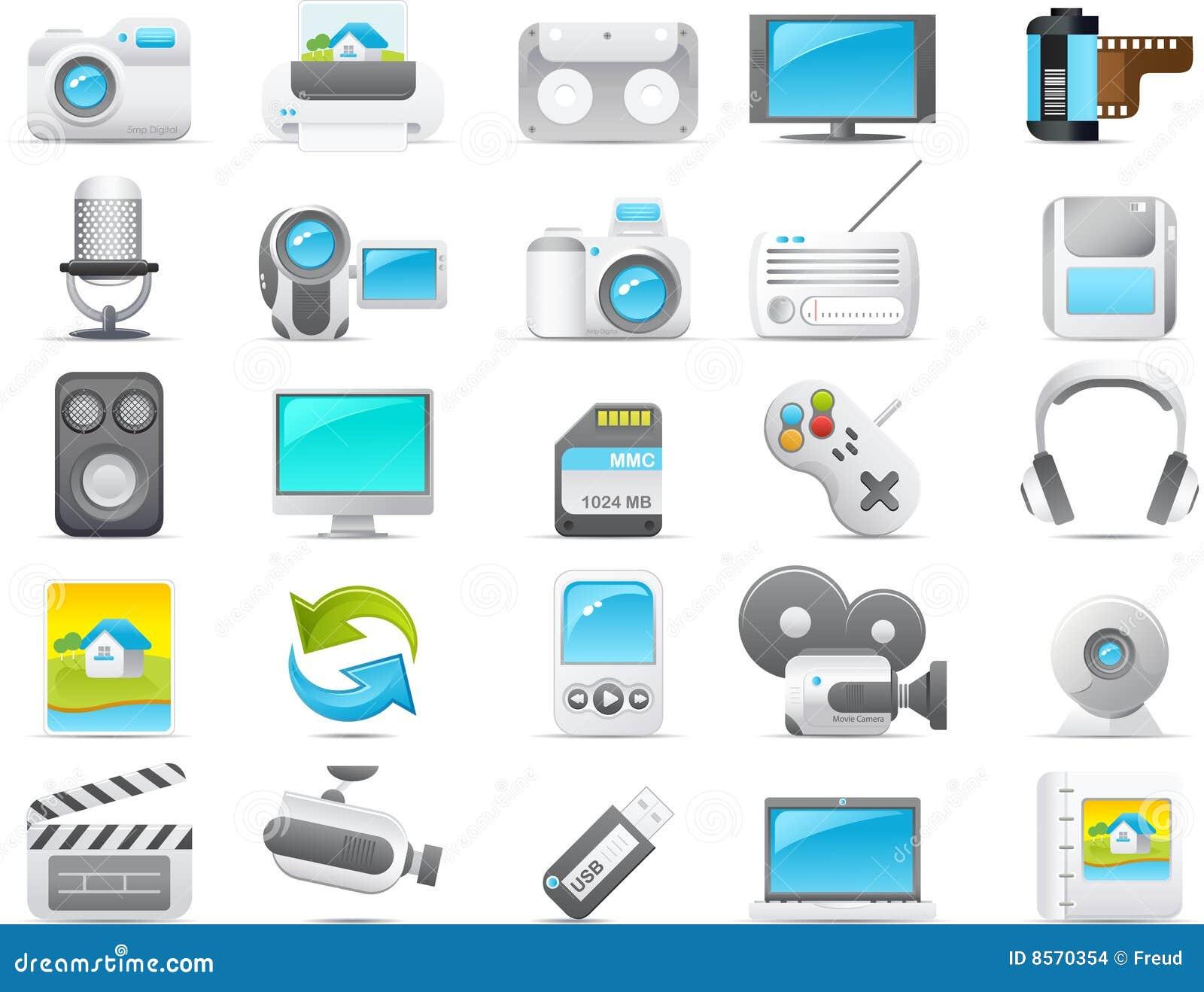 Icono de Nouve fijado: Media y electrónica