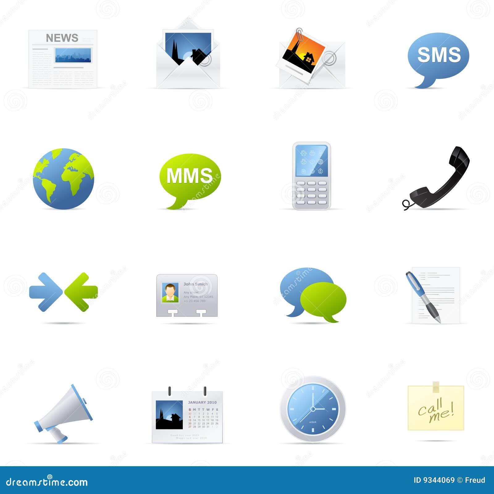 Icono de Vecto fijado - comunicación