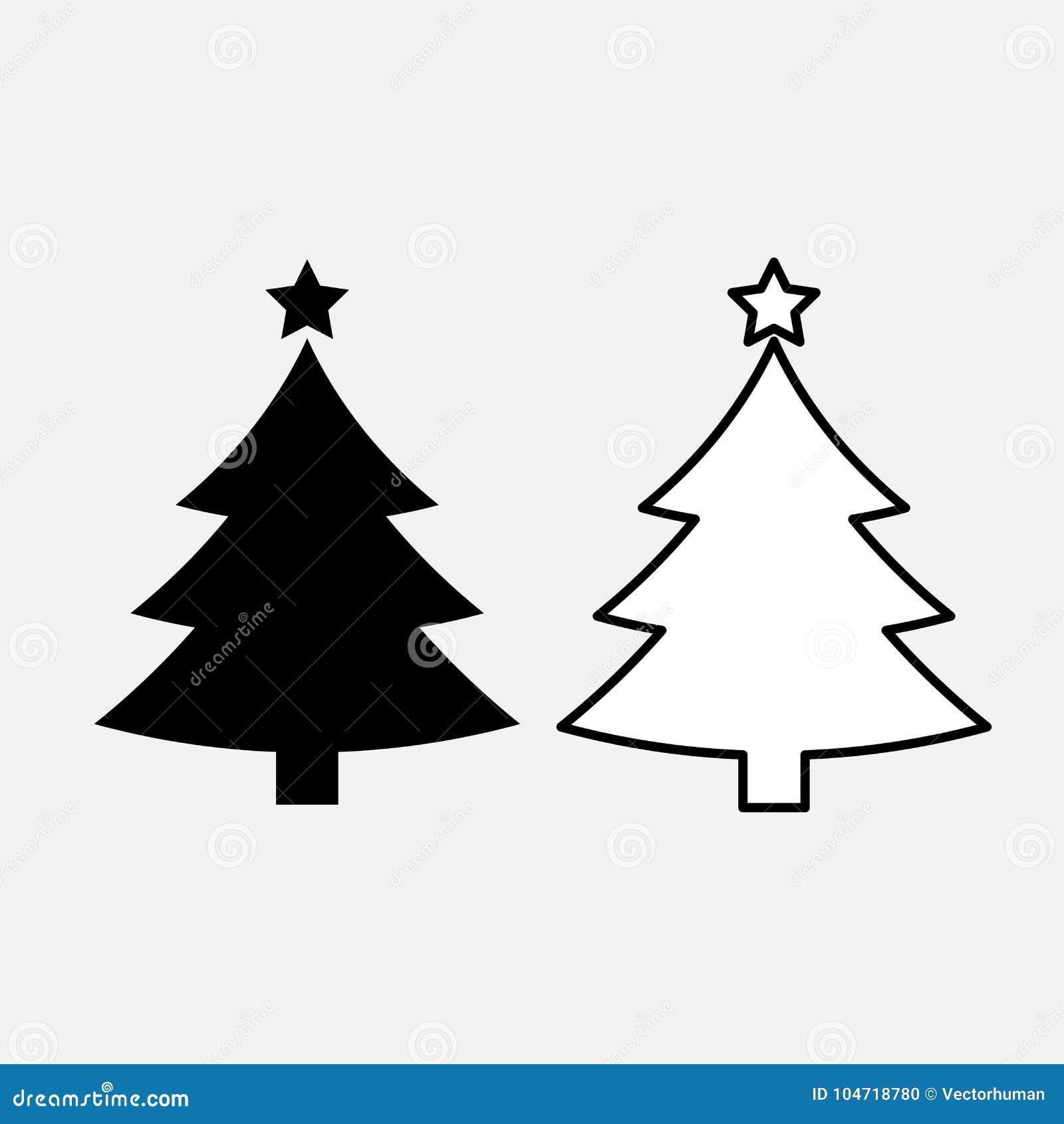 Icono del árbol de navidad