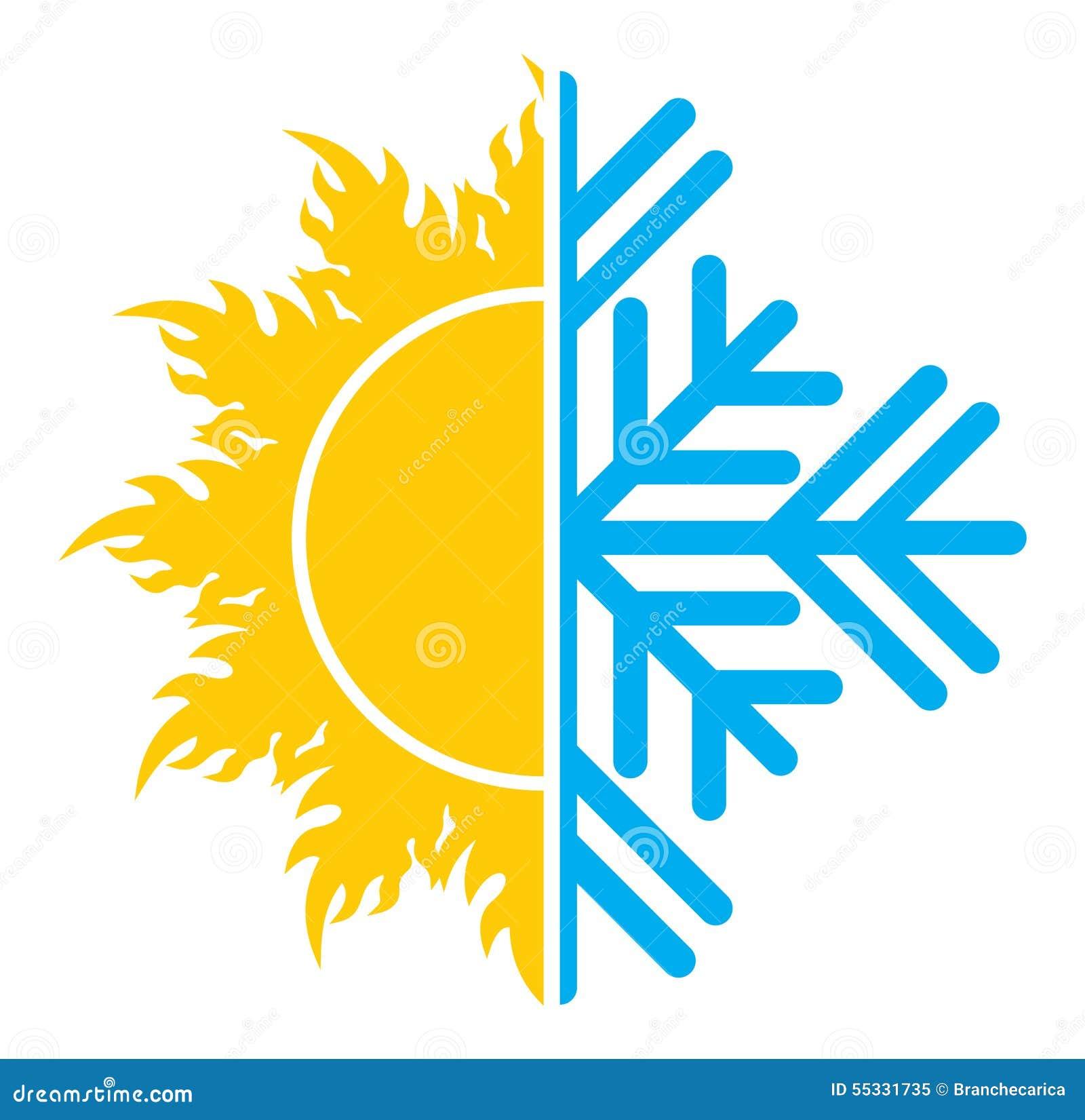 Icono del aire acondicionado stock de ilustraci n imagen for Temperatura ideal aire acondicionado invierno