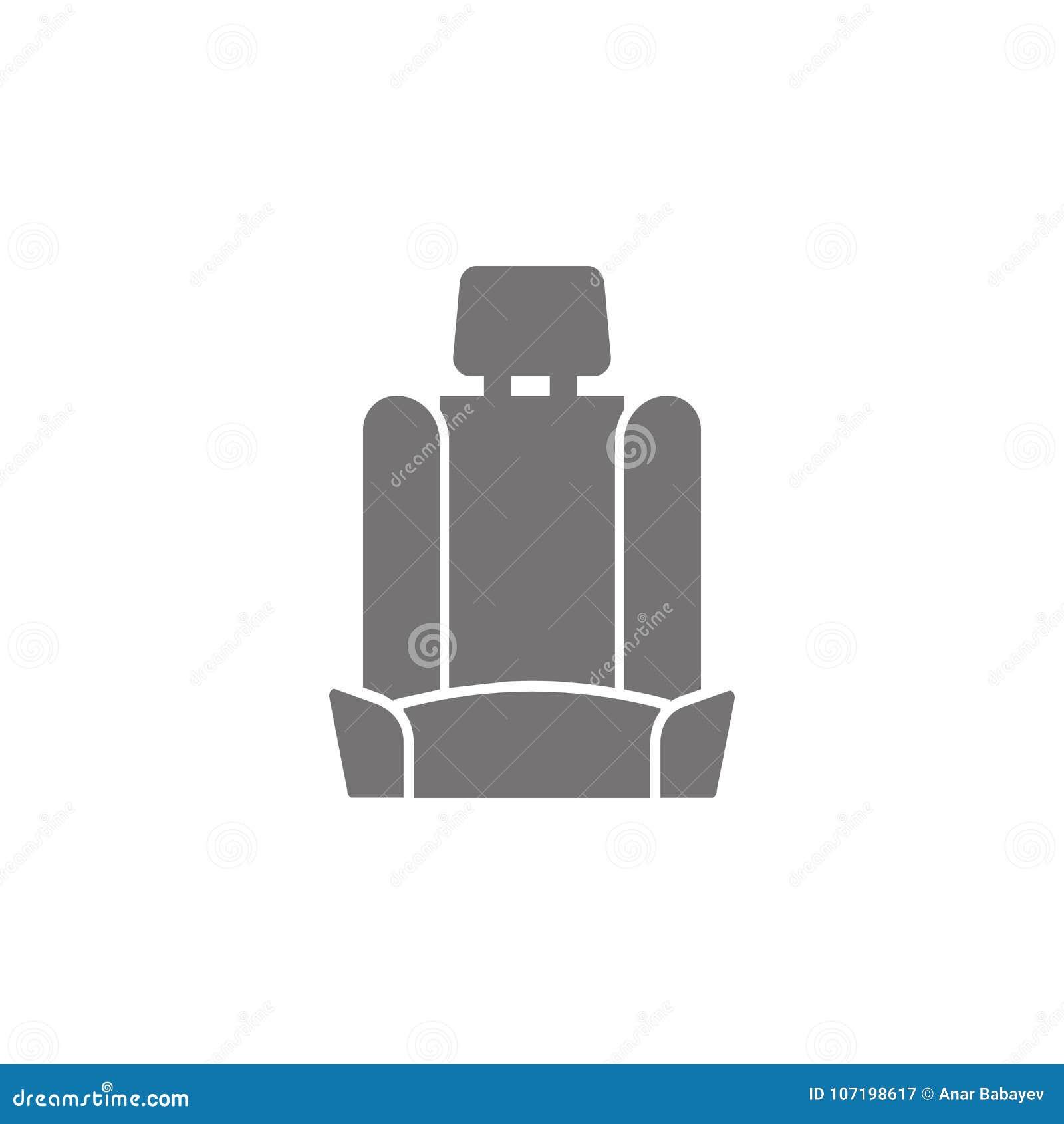 Icono del asiento de carro