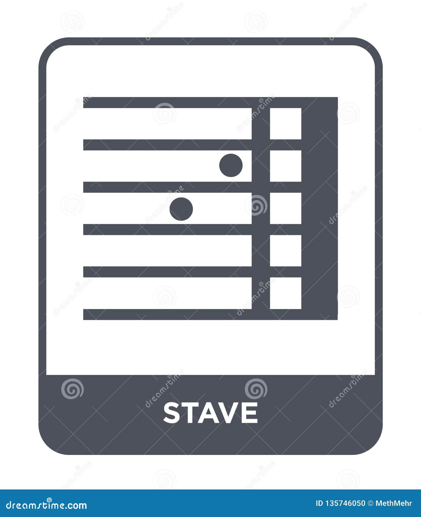 Icono del bastón en estilo de moda del diseño icono del bastón aislado en el fondo blanco símbolo plano simple y moderno del icon