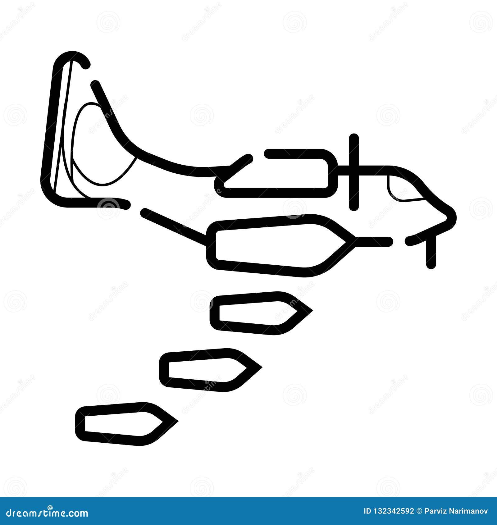 Icono del bombardeo
