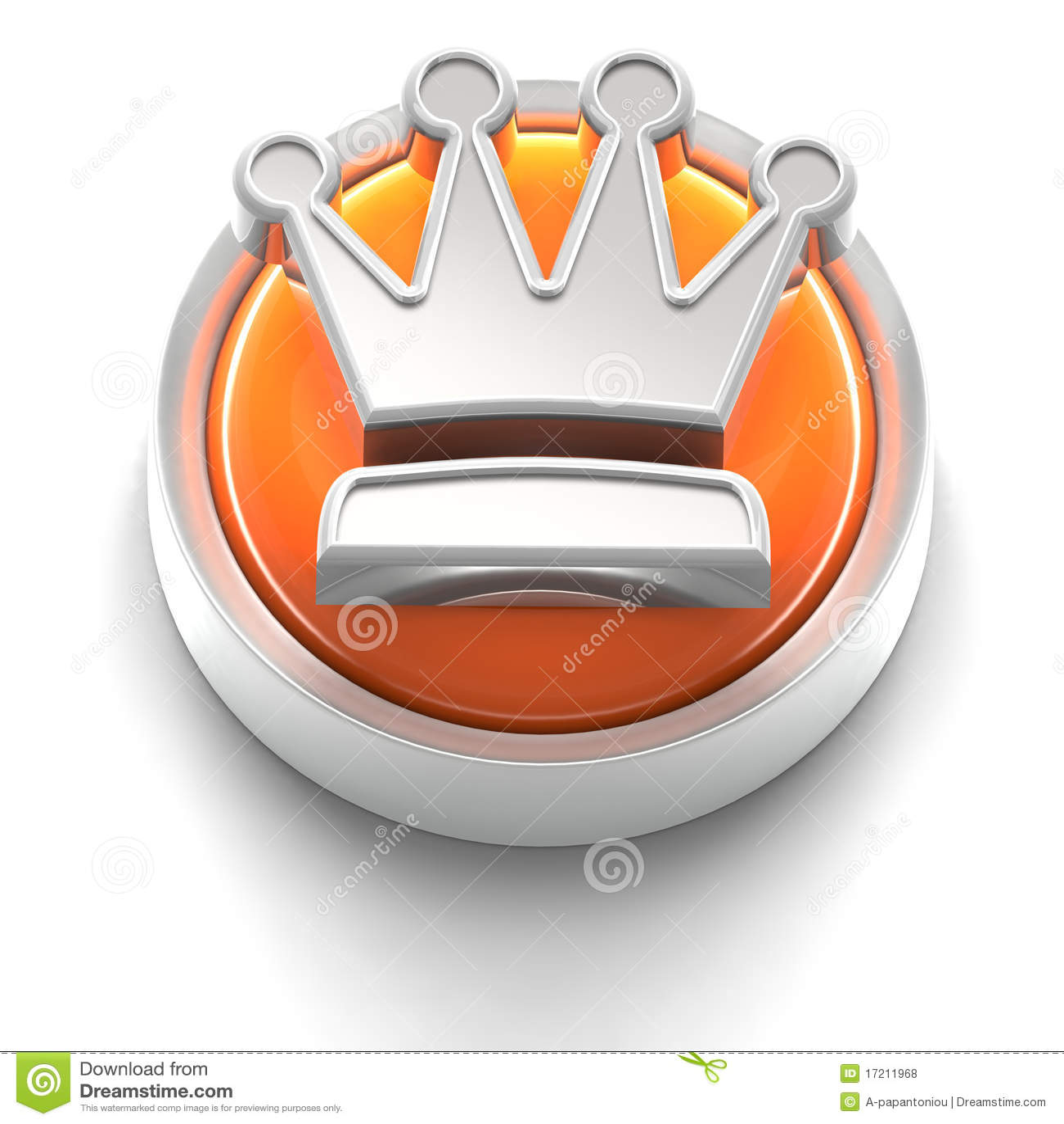 Icono del botón: Corona