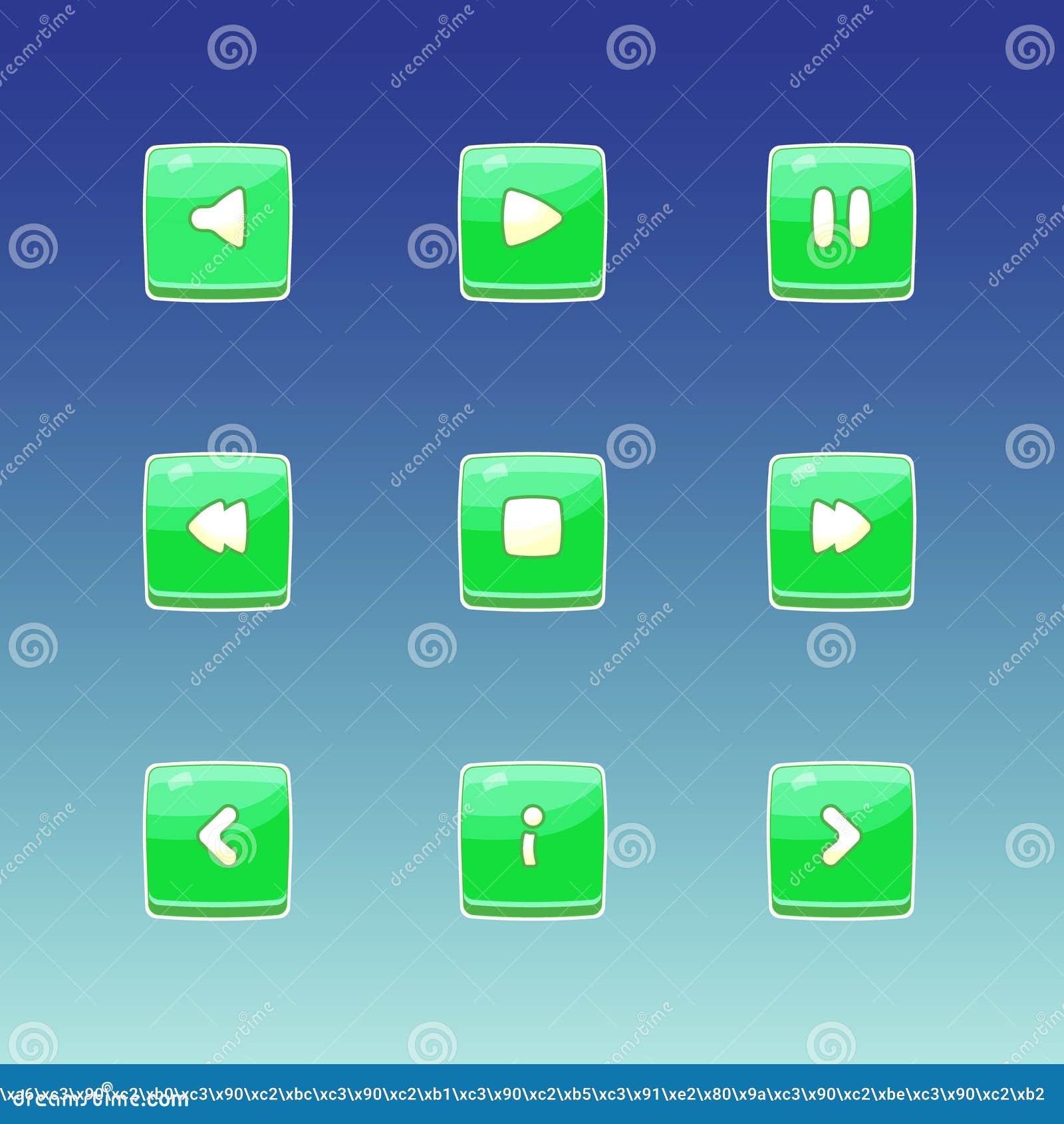 Icono del botón del juego