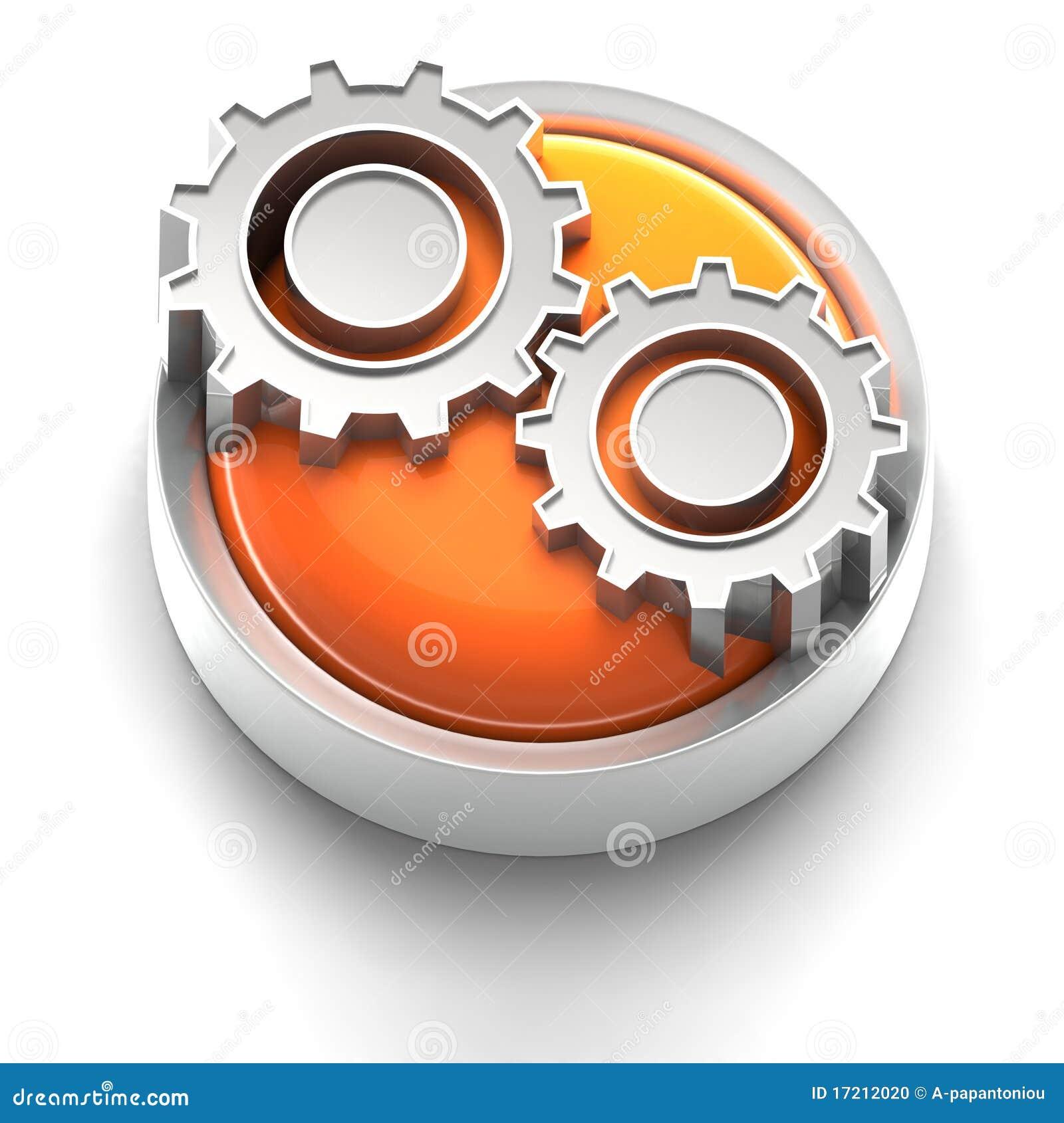Icono del botón: Engranaje