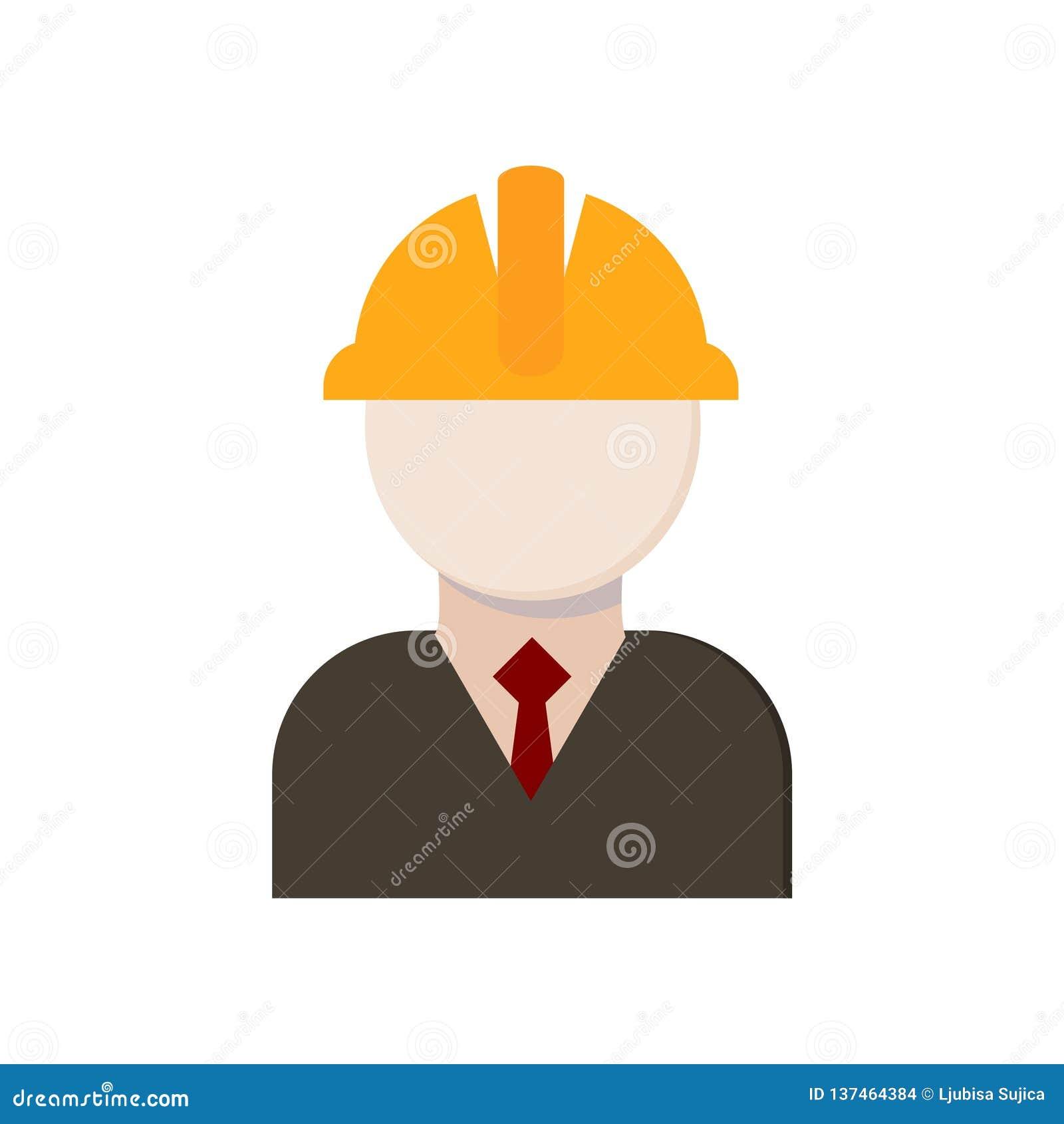 Icono del contratista, trabajadores icono o logotipo
