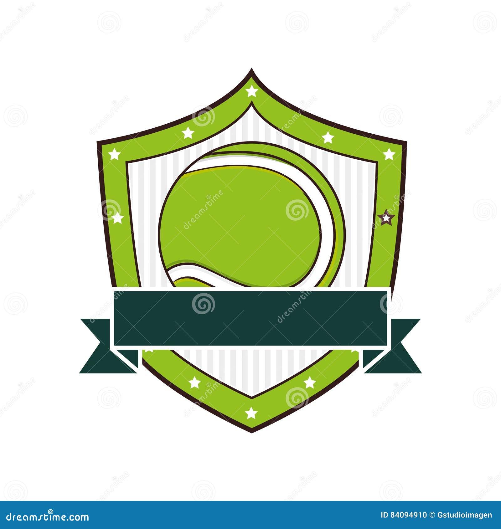 Tenis pelota stock de ilustracion ilustracion libre de stock de - Icono Del Deporte De La Pelota De Tenis Stock De Ilustraci N