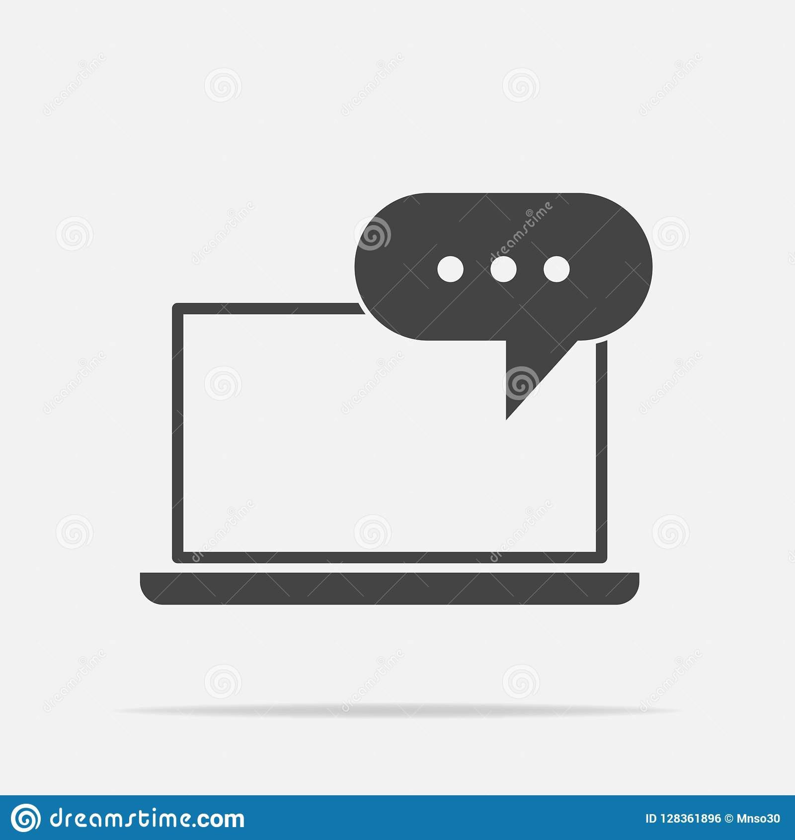 Icono del entrenamiento en línea Entrenamiento remoto del web Símbolo de lear en línea