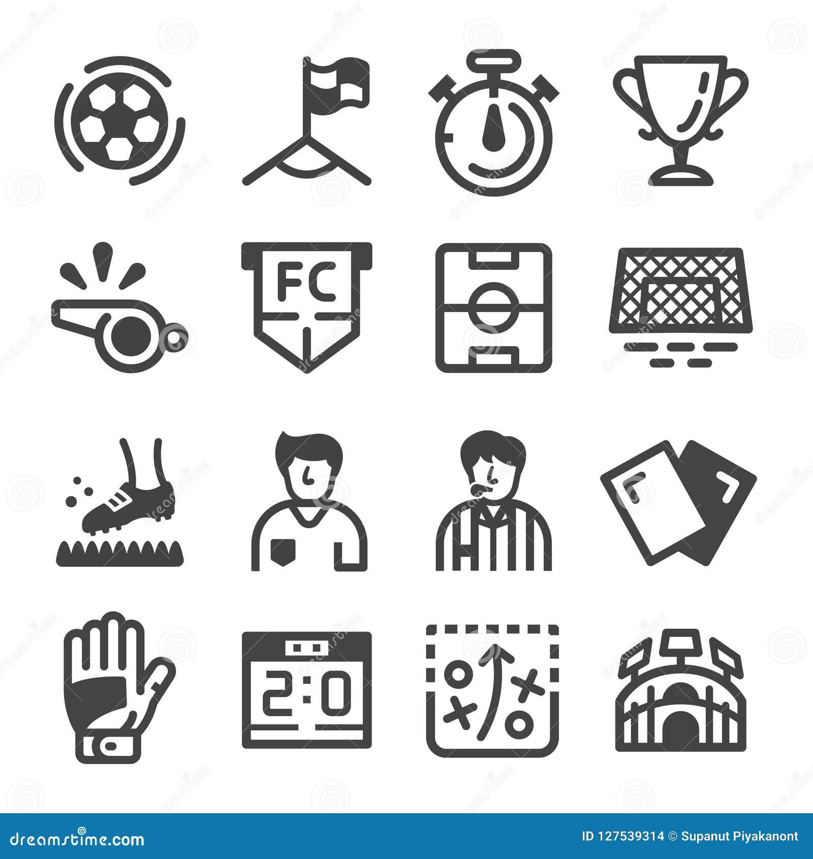 Icono del fútbol y del fútbol