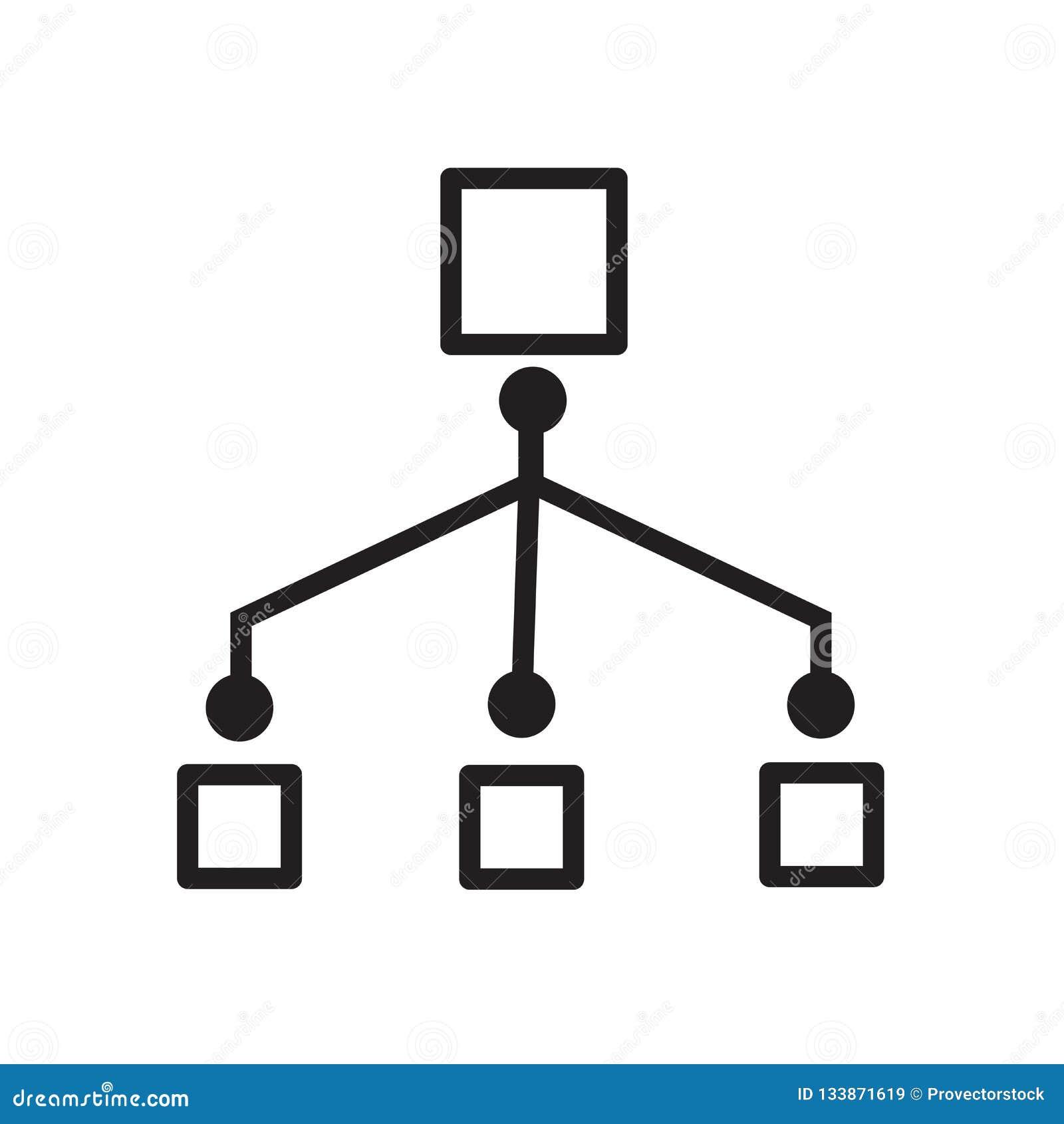Icono del flujo de trabajo de la red