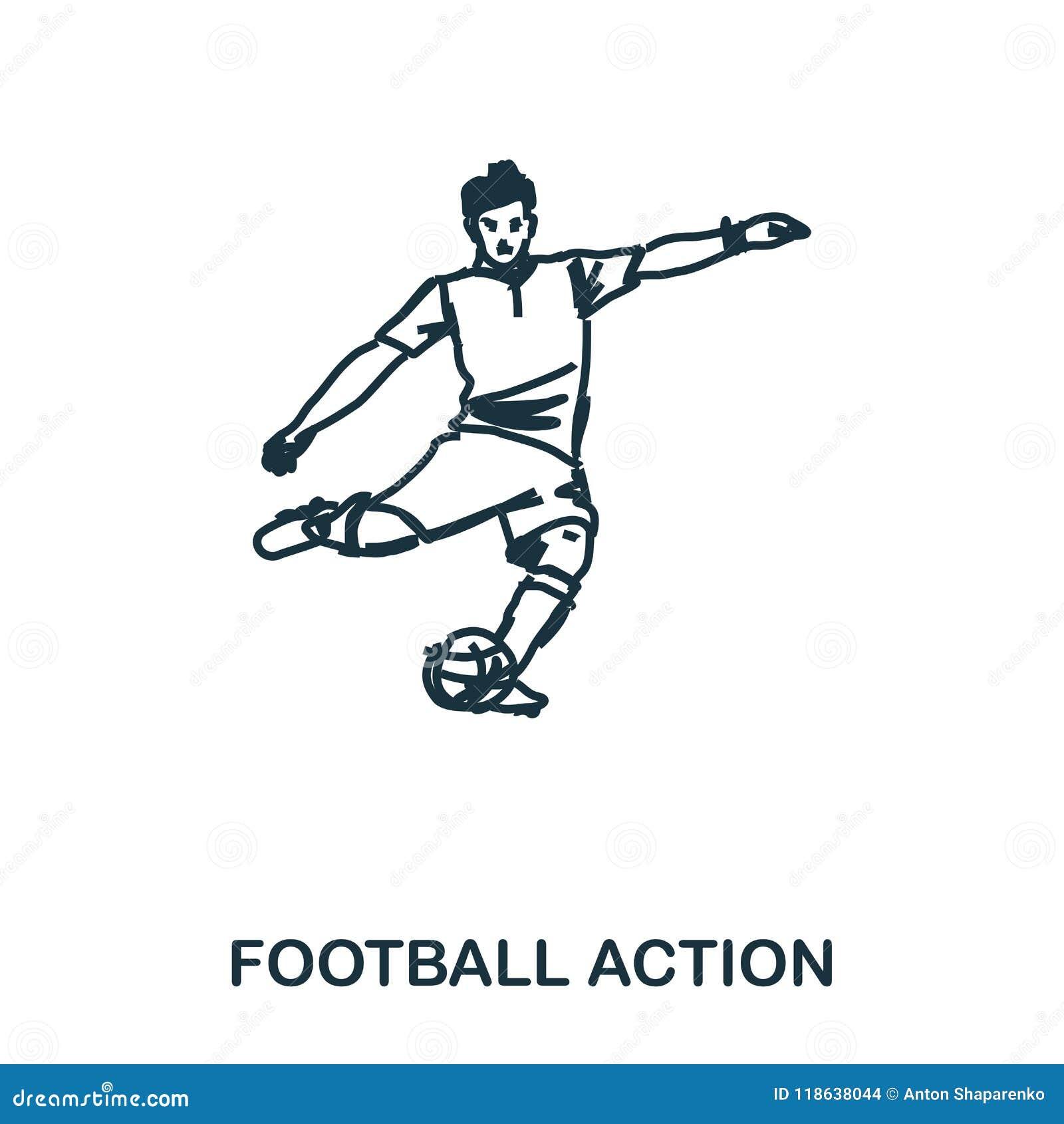 Icono del futbolista Apps móviles, impresión y más uso El elemento simple canta Icono monocromático del futbolista