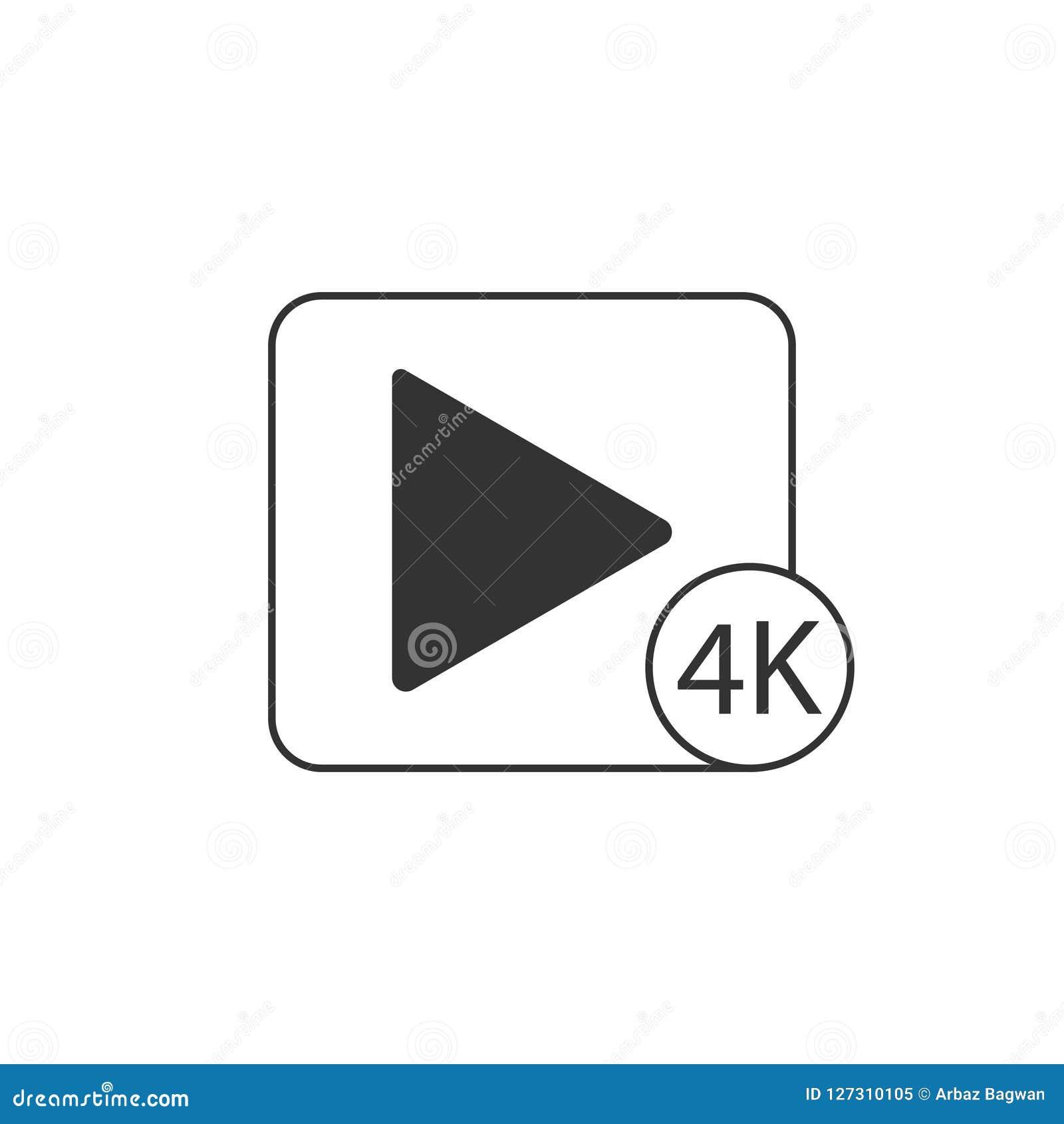 Icono del juego 4K