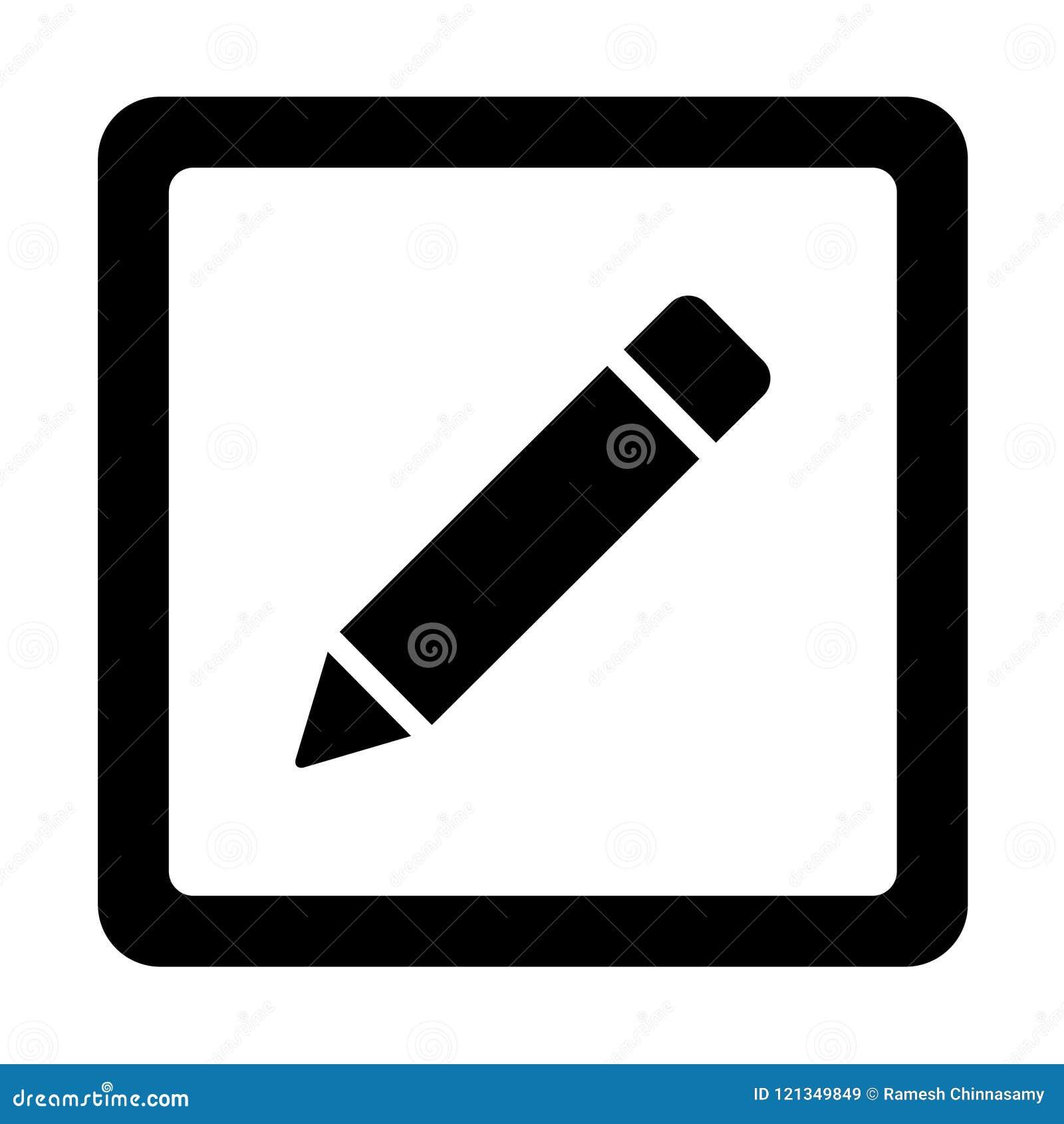 Icono del lápiz