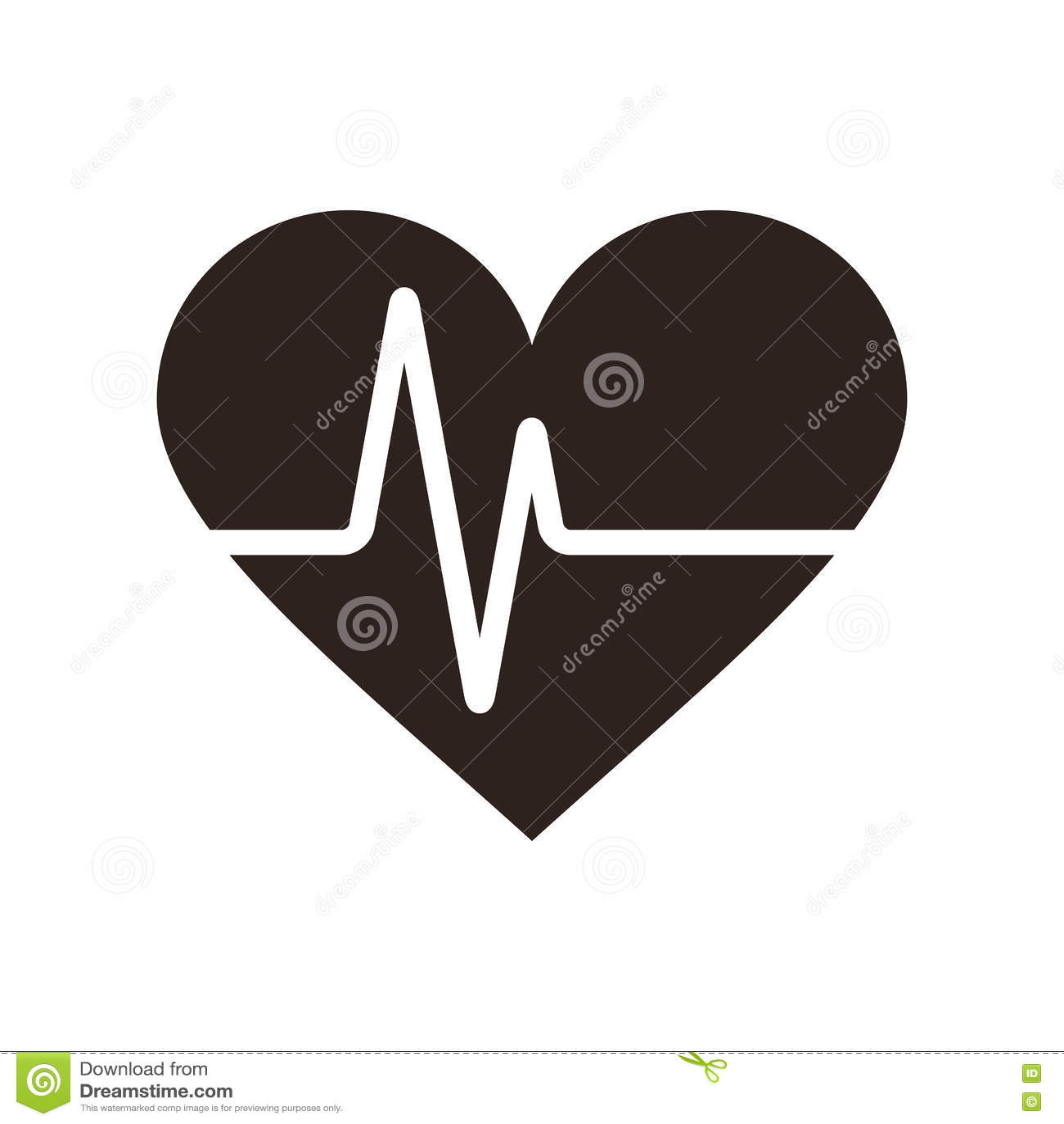 Icono del latido del corazón