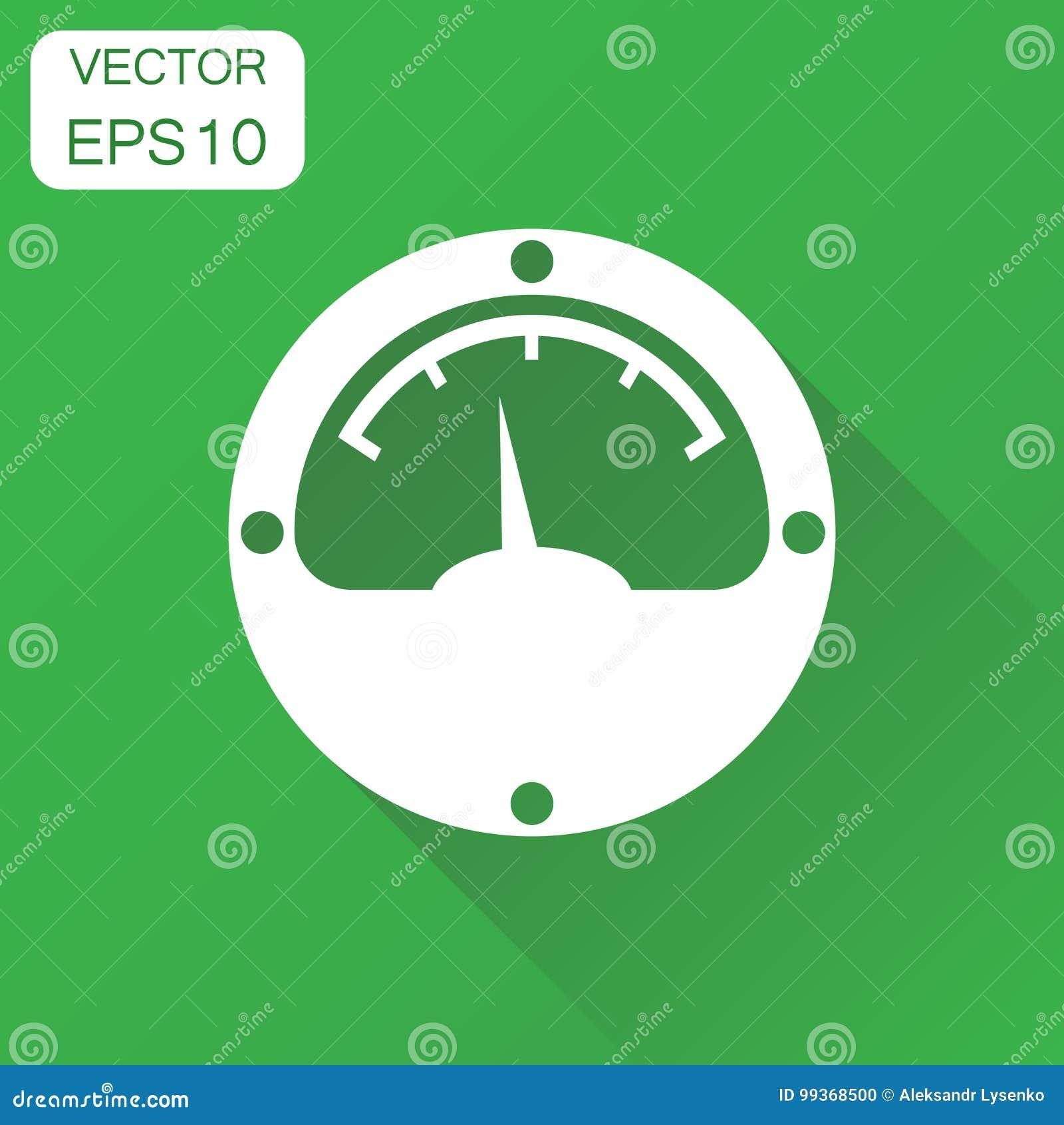 Icono del metro eléctrico Pictograma del metro de poder del concepto del negocio