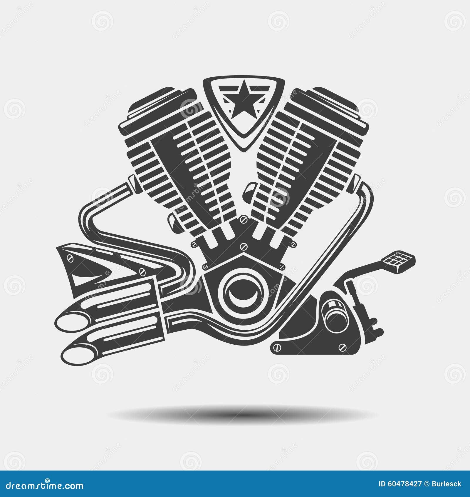 Tour de motor de fondo de hierro